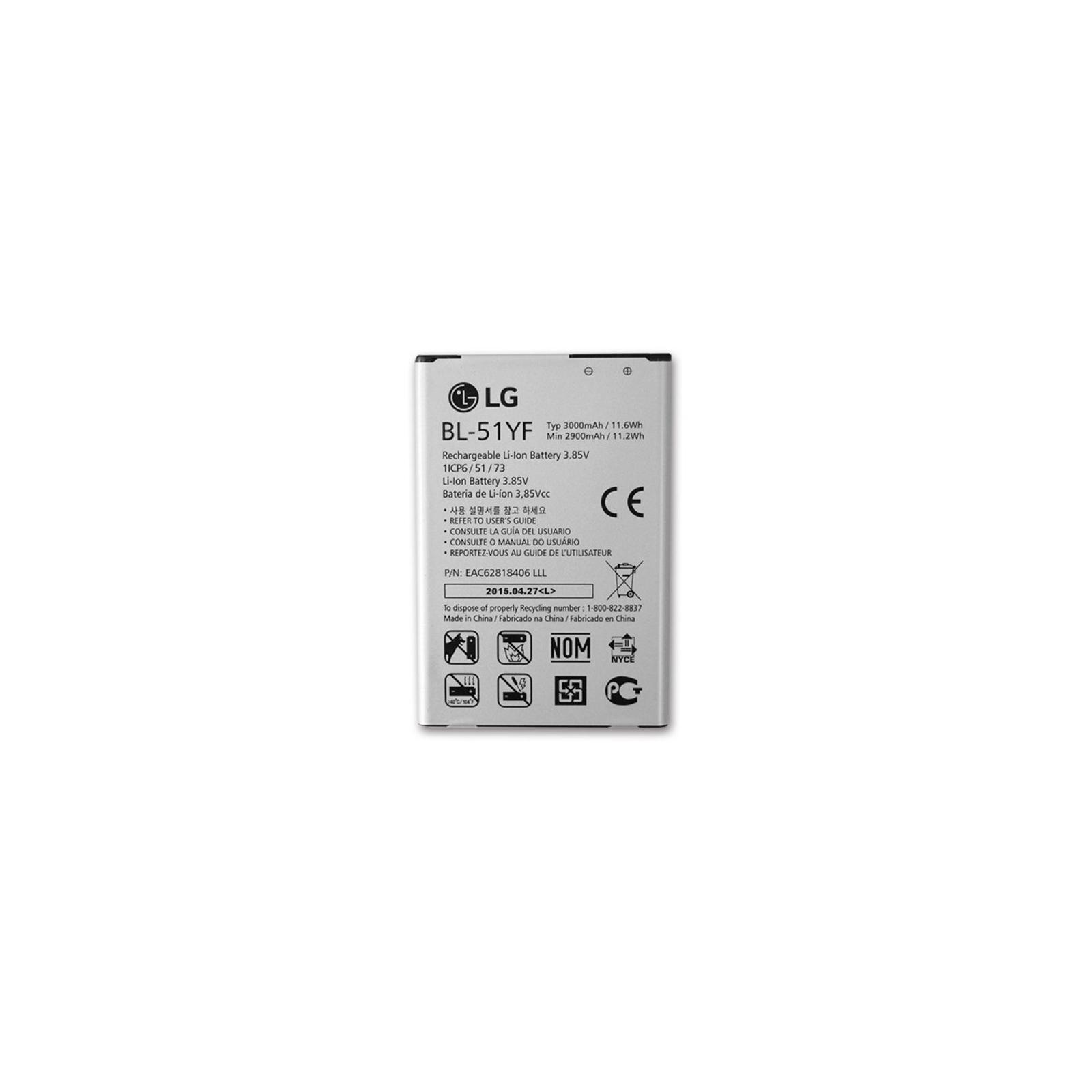 Аккумуляторная батарея для телефона LG for G4/G4 Stylus (BL-51YF / 40958)
