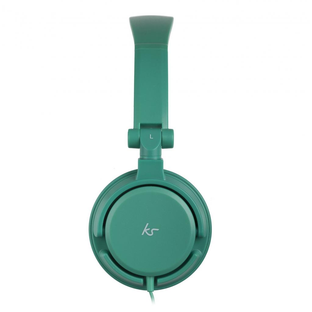 Наушники KitSound KS iD On-Ear Headphones with In-Line Mic Green (KSIDGR) изображение 3