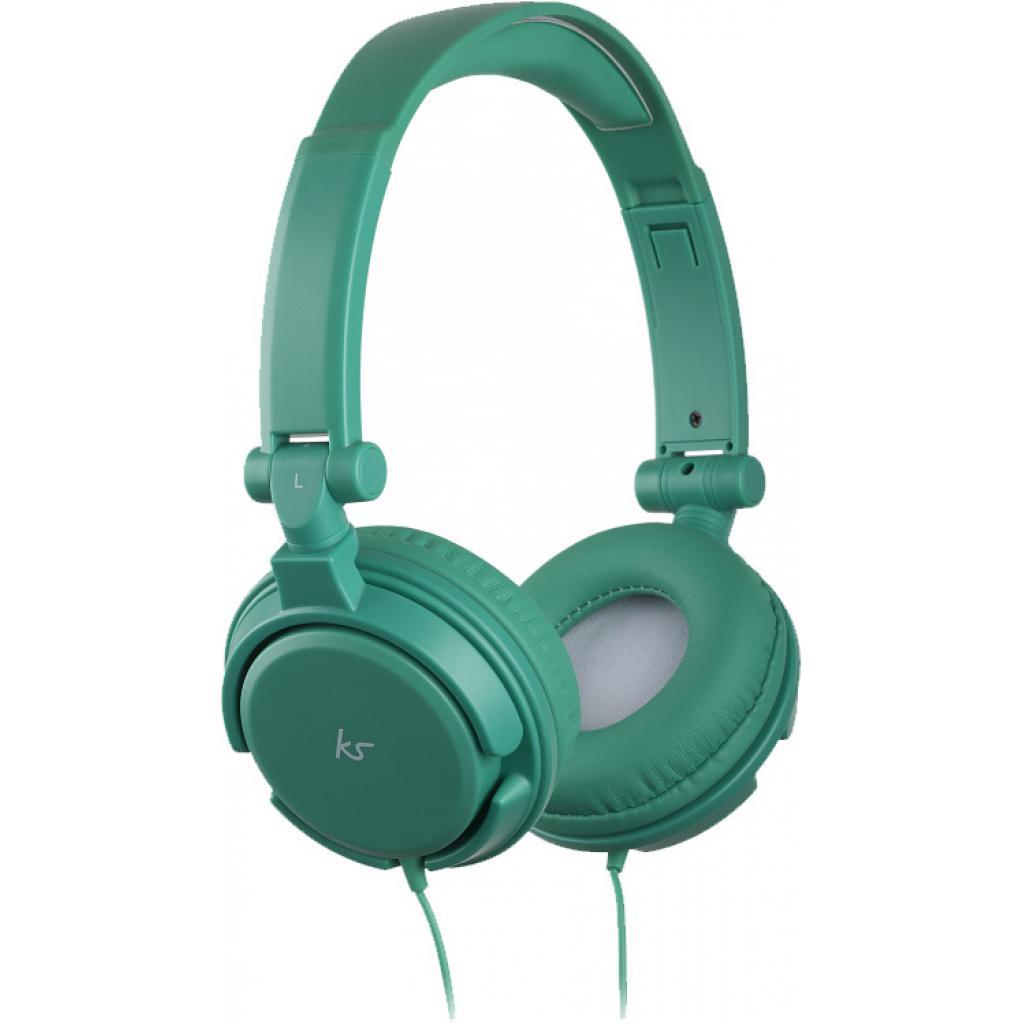 Наушники KitSound KS iD On-Ear Headphones with In-Line Mic Green (KSIDGR)