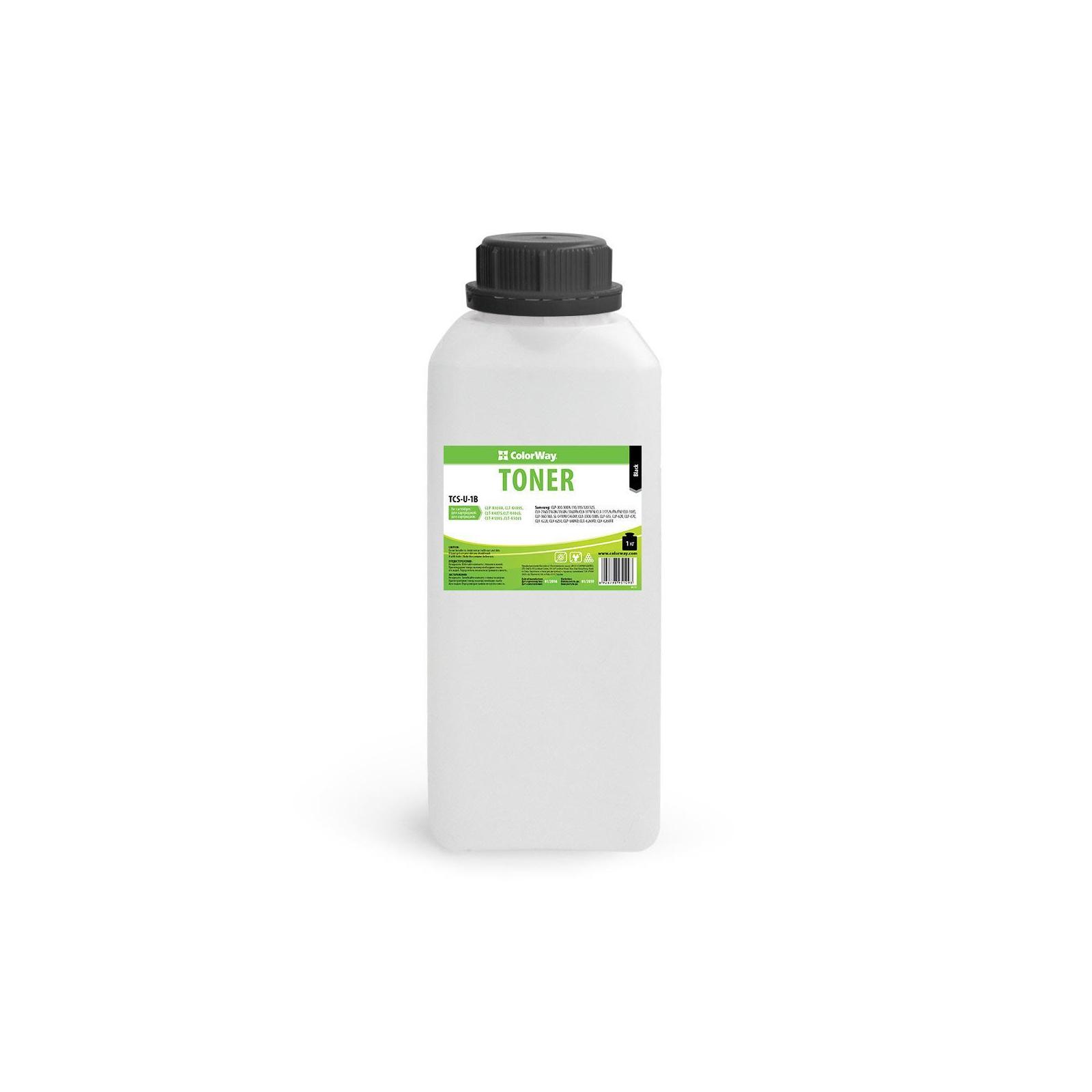 Тонер SAMSUNG CLP Universal color Black (1kg) ColorWay (TCS-U-1B)
