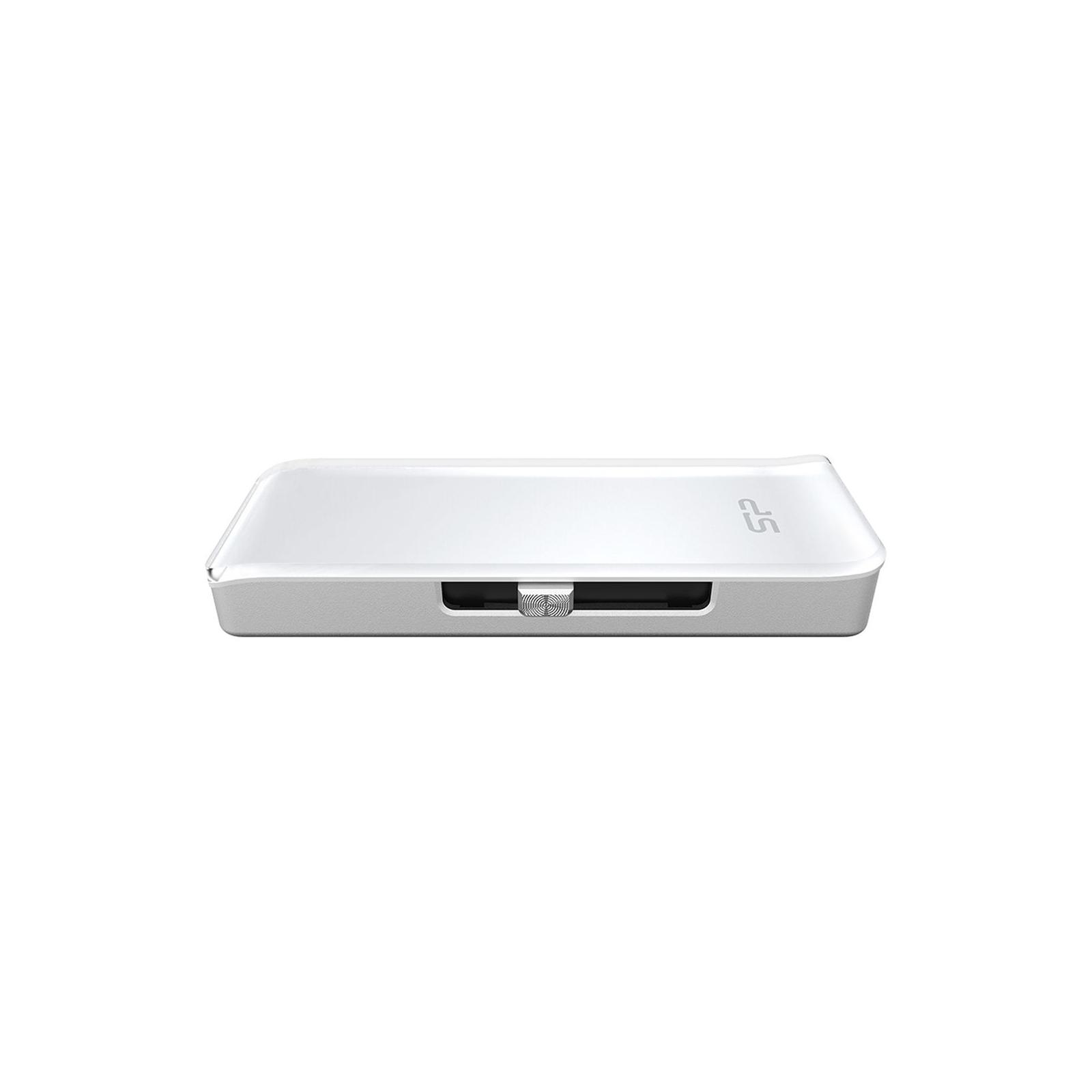 USB флеш накопитель Silicon Power 64GB xDrive Z30 White USB 3.0 (SP064GBLU3Z30V1W)