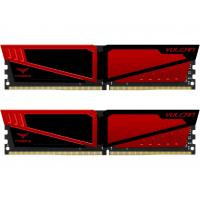 Модуль памяти для компьютера DDR4 32GB (2x16GB) 2666 MHz T-Force Vulcan Red Team (TLRED432G2666HC15BDC01)