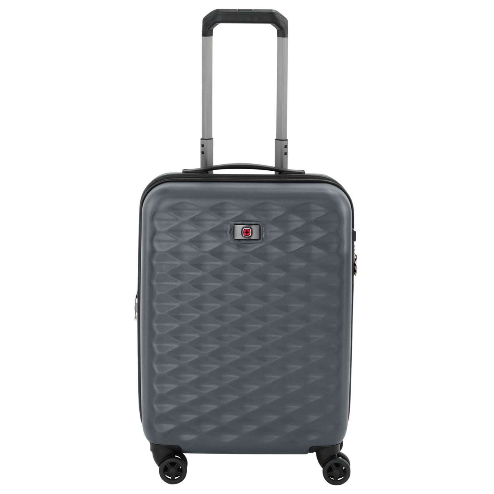 """Набор чемоданов Wenger Lumen, (20""""+24""""+28""""), 4 колеса (серый) (604335) изображение 2"""