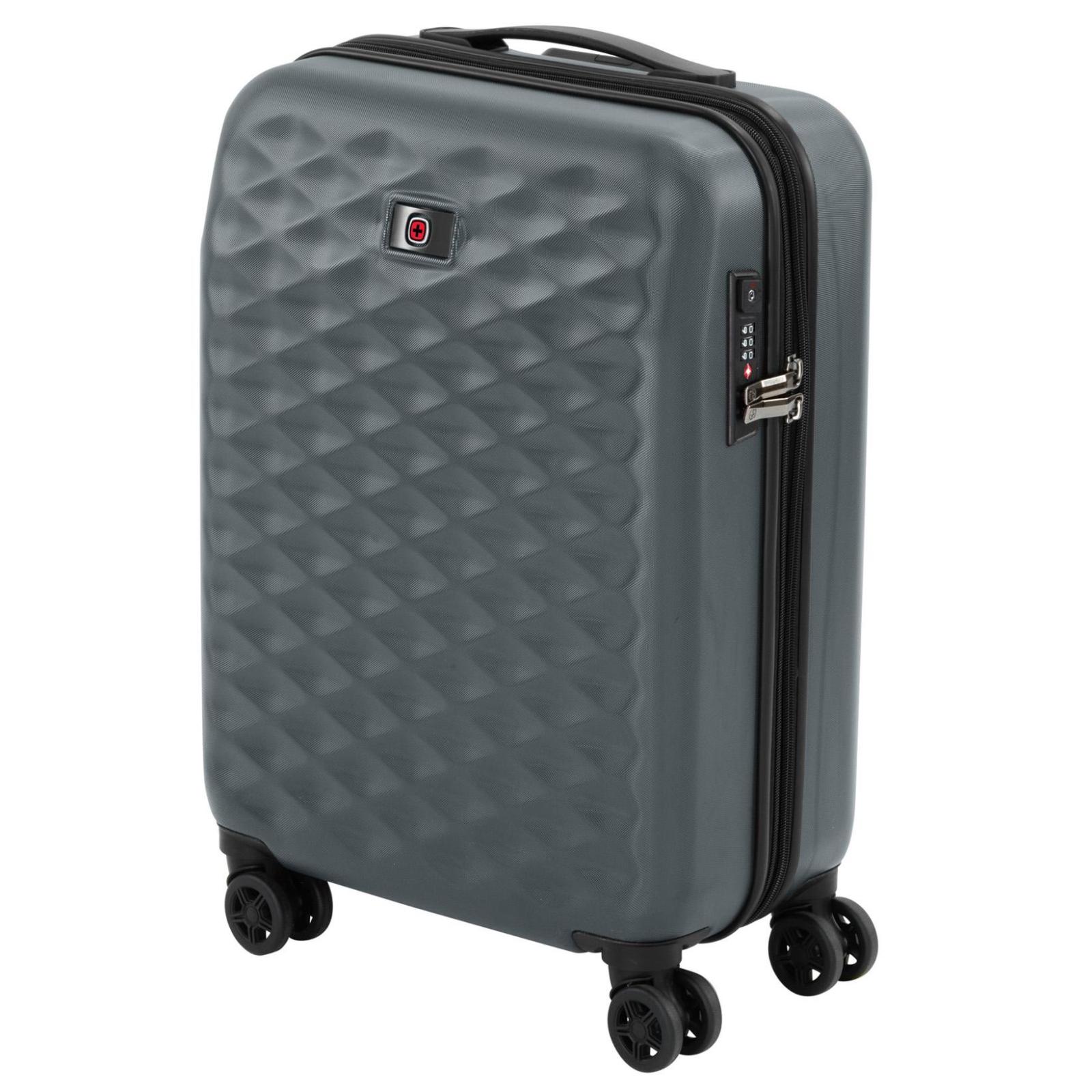 """Набор чемоданов Wenger Lumen, (20""""+24""""+28""""), 4 колеса (серый) (604335) изображение 3"""