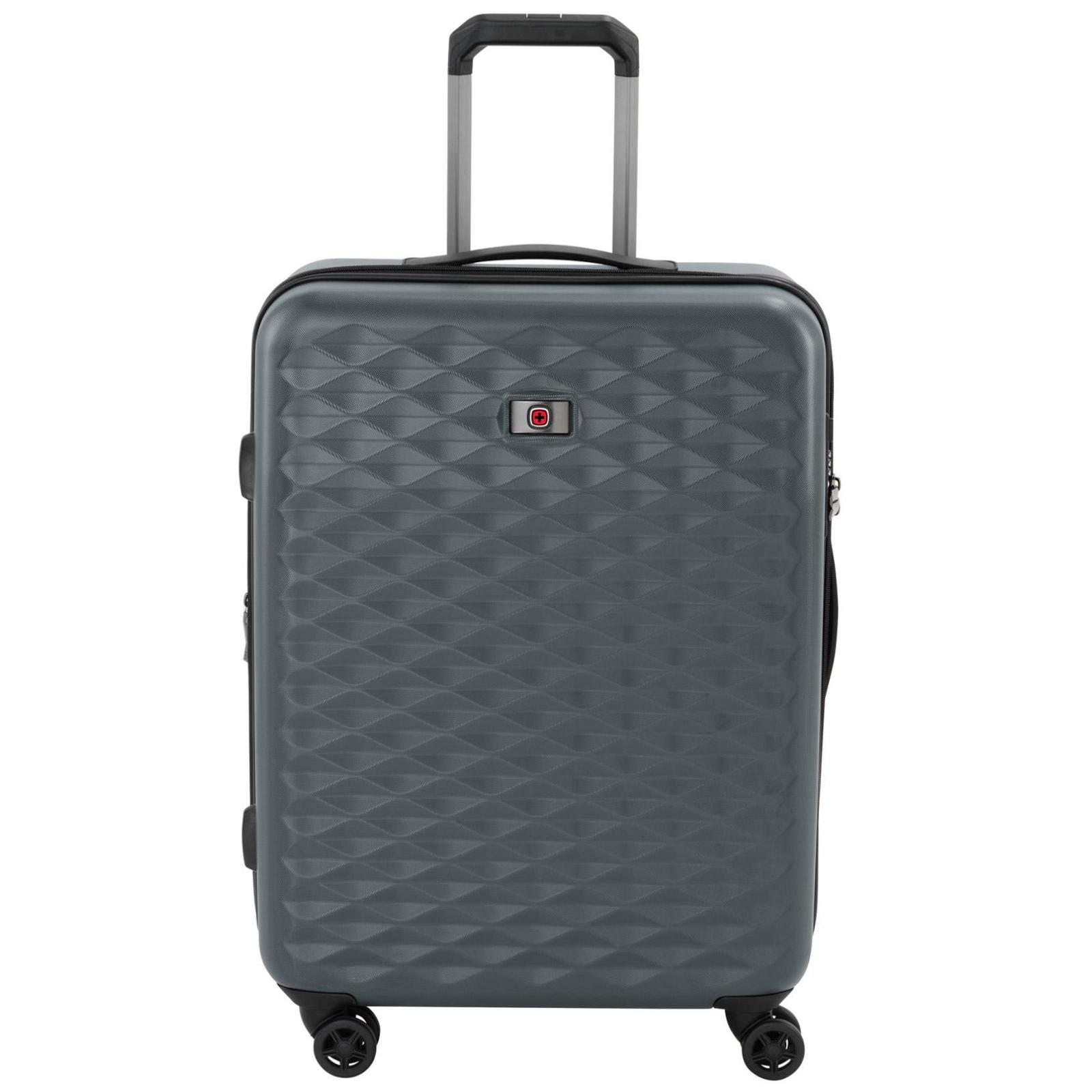 """Набор чемоданов Wenger Lumen, (20""""+24""""+28""""), 4 колеса (серый) (604335) изображение 4"""