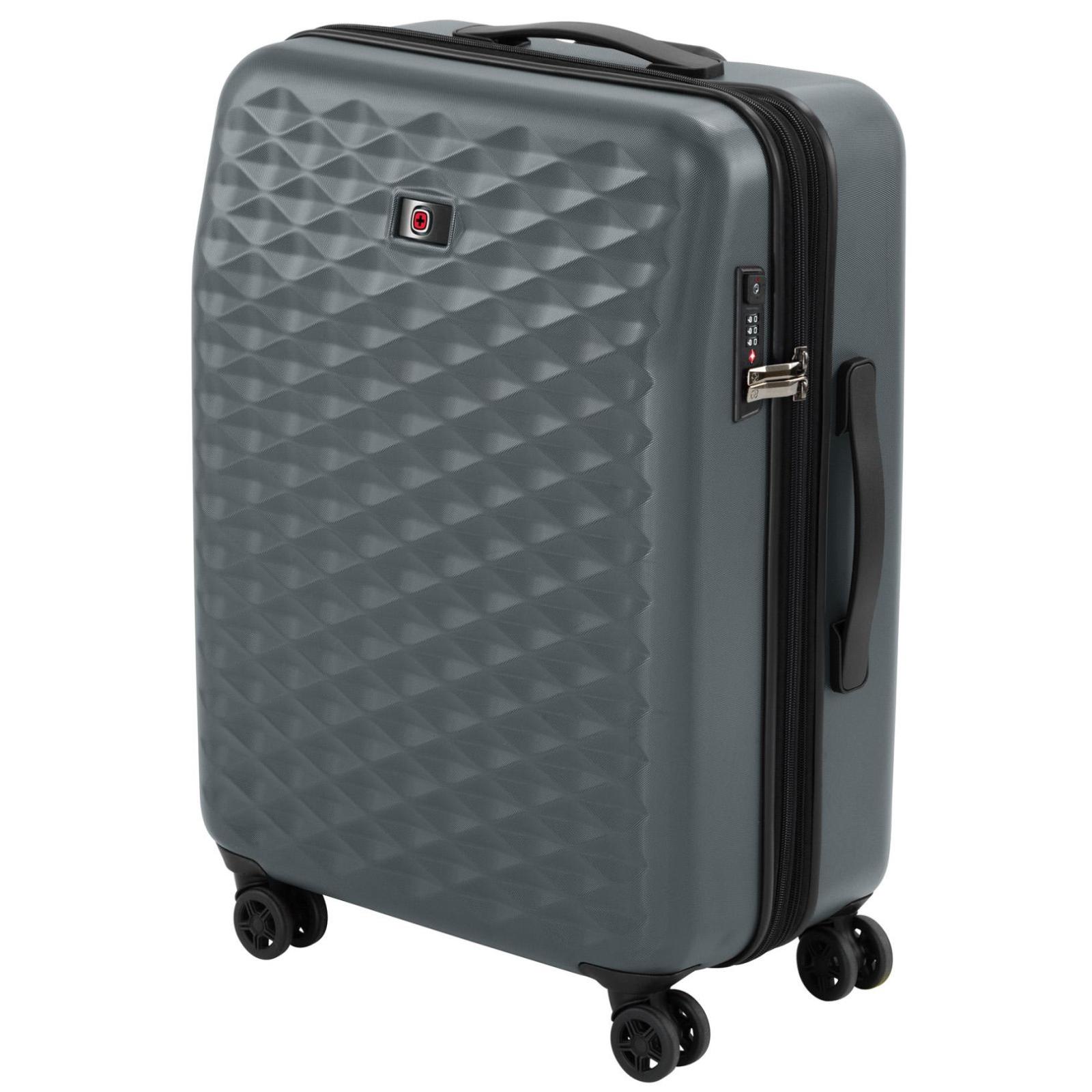 """Набор чемоданов Wenger Lumen, (20""""+24""""+28""""), 4 колеса (серый) (604335) изображение 5"""