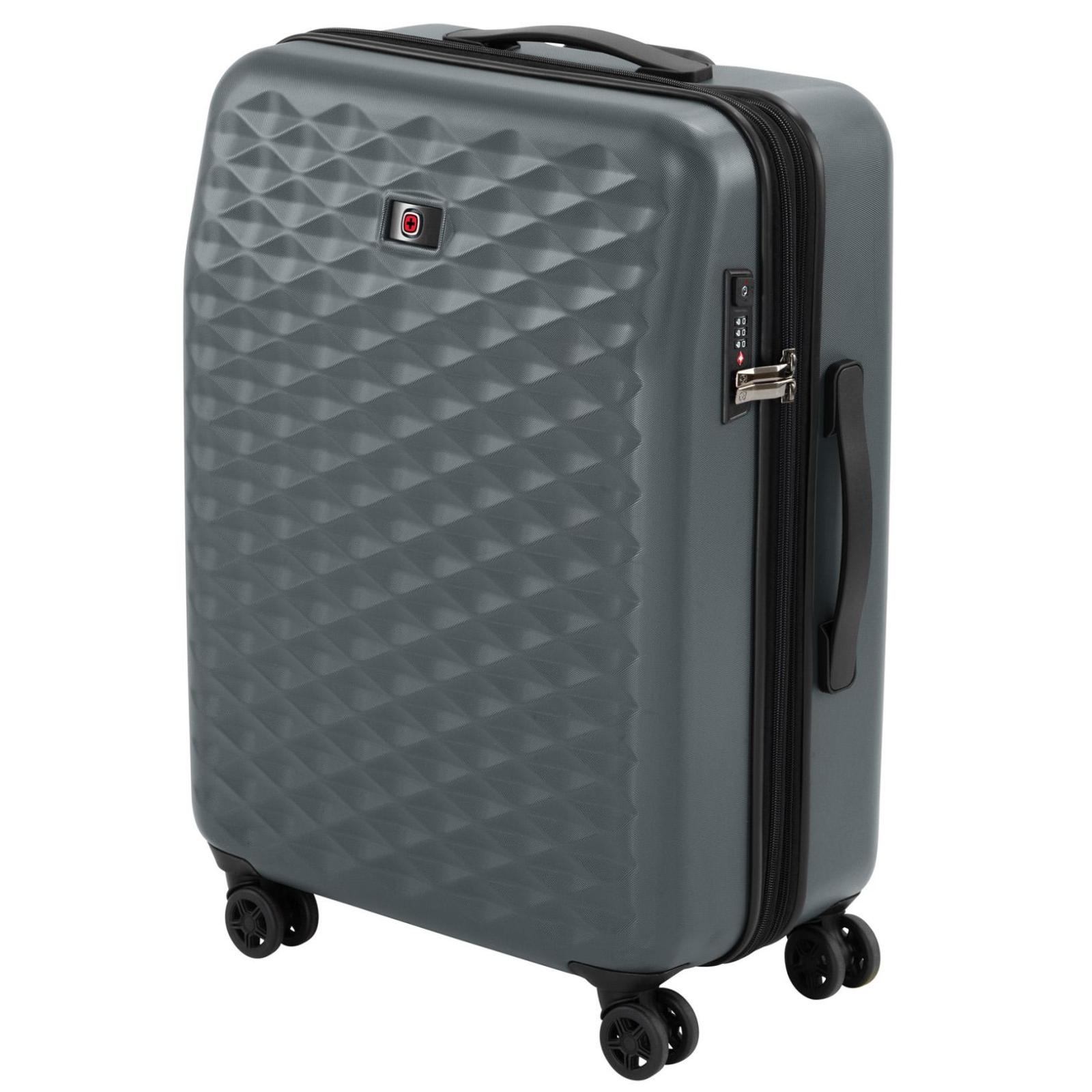 """Набор чемоданов Wenger Lumen, (20""""+24""""+28""""), 4 колеса (серый) (604335) изображение 7"""