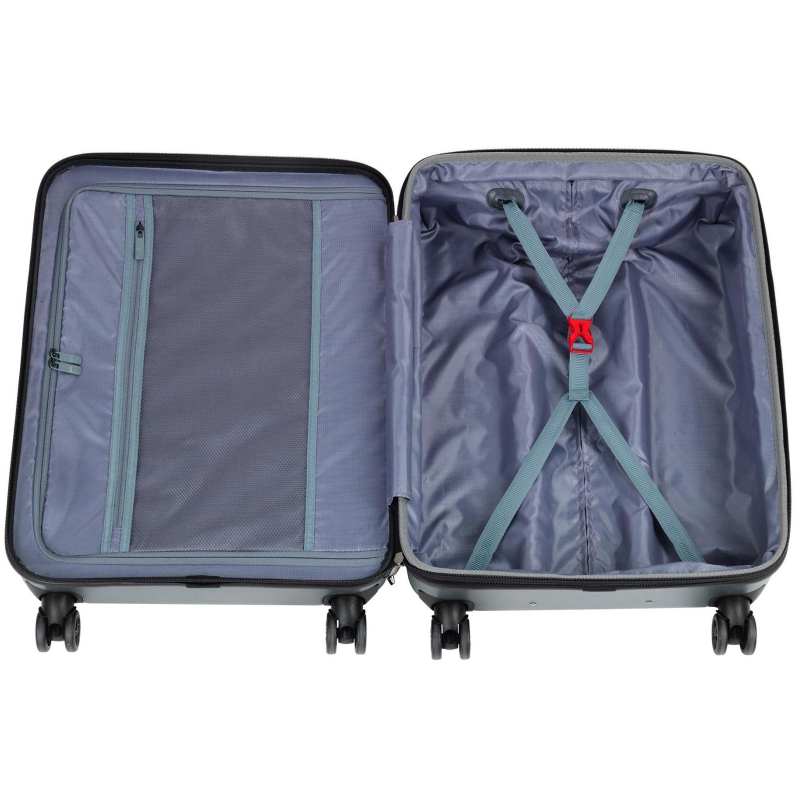 """Набор чемоданов Wenger Lumen, (20""""+24""""+28""""), 4 колеса (серый) (604335) изображение 8"""