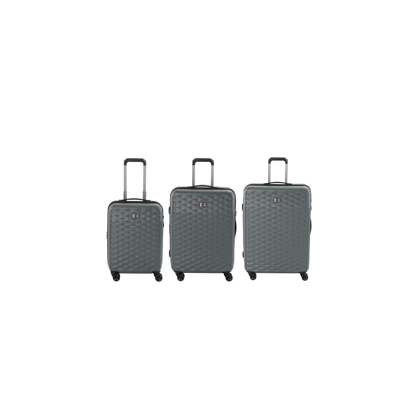 """Набор чемоданов Wenger Lumen, (20""""+24""""+28""""), 4 колеса (серый) (604335)"""