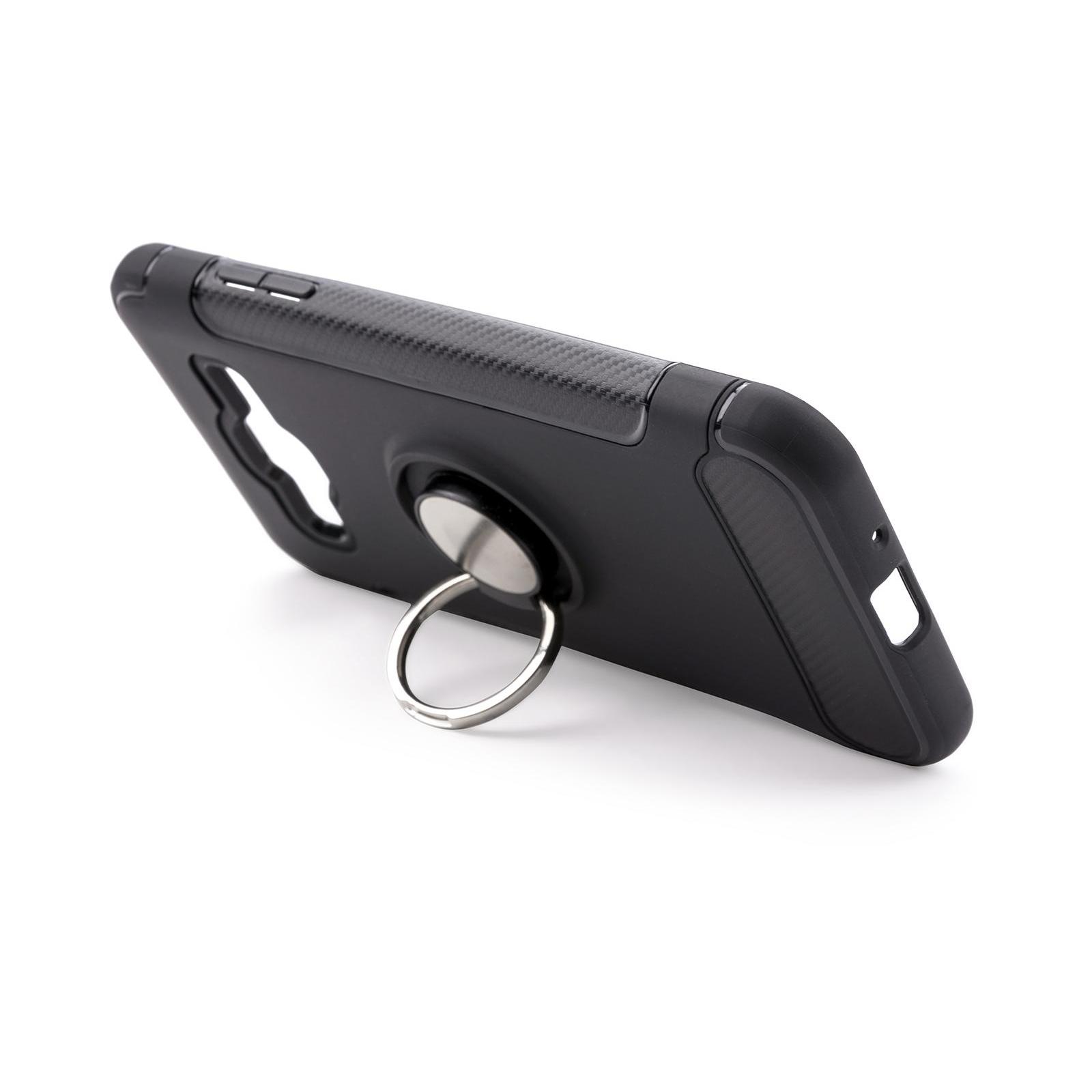 Чехол для моб. телефона Laudtec для Samsung J3 2016/J320 Ring stand (black) (LR-J320-BC) изображение 4