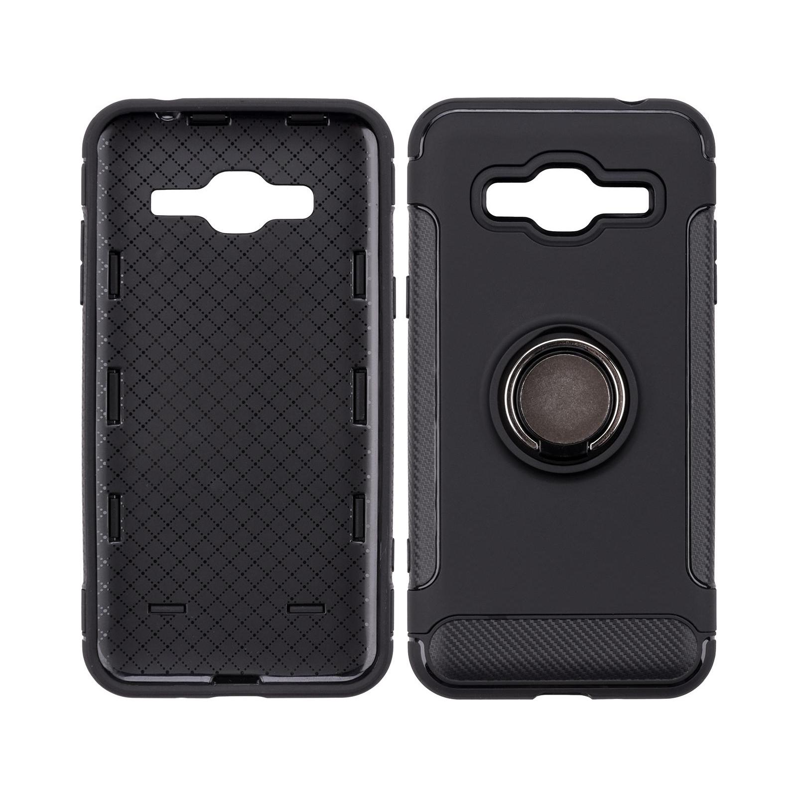 Чехол для моб. телефона Laudtec для Samsung J3 2016/J320 Ring stand (black) (LR-J320-BC) изображение 5