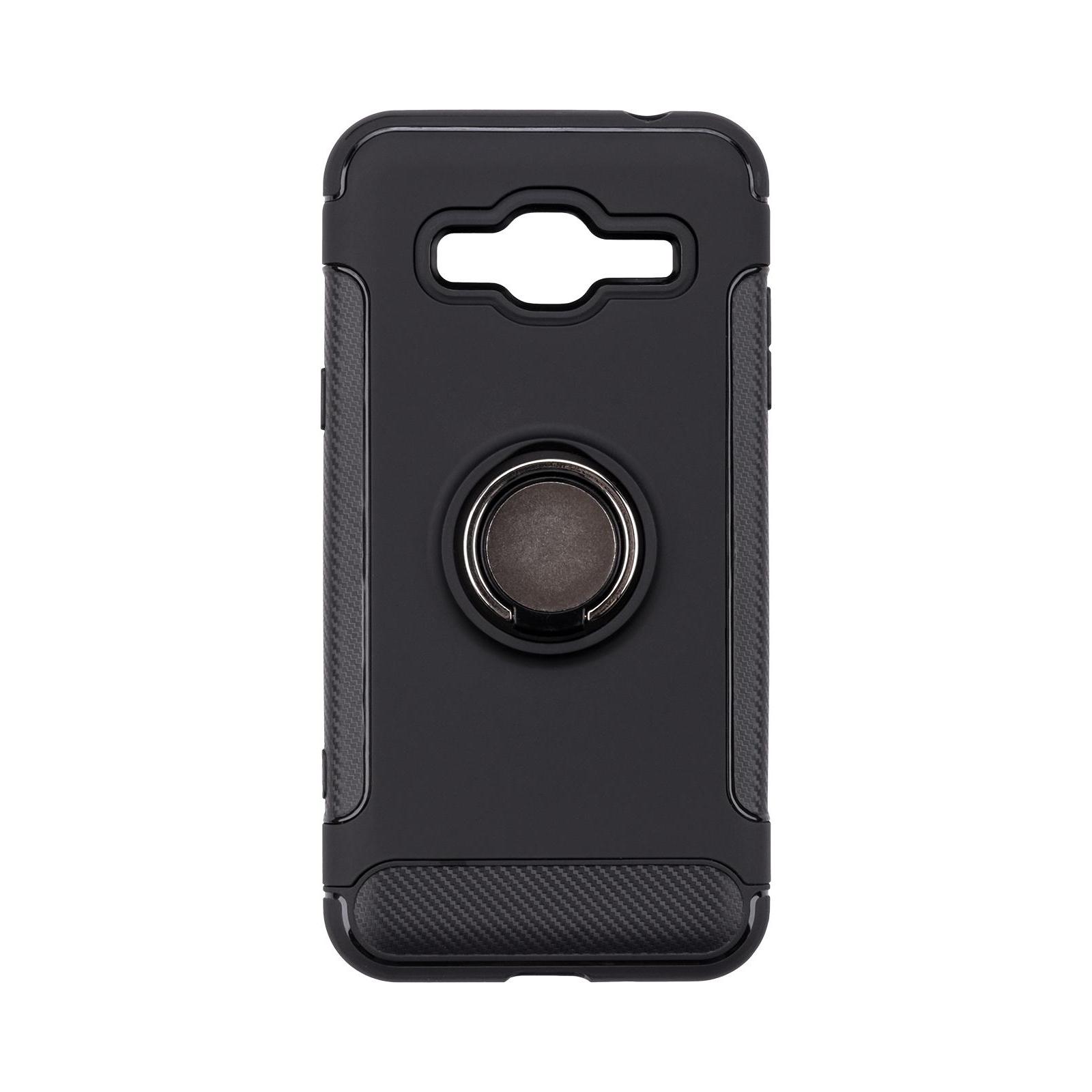 Чехол для моб. телефона Laudtec для Samsung J3 2016/J320 Ring stand (black) (LR-J320-BC) изображение 9
