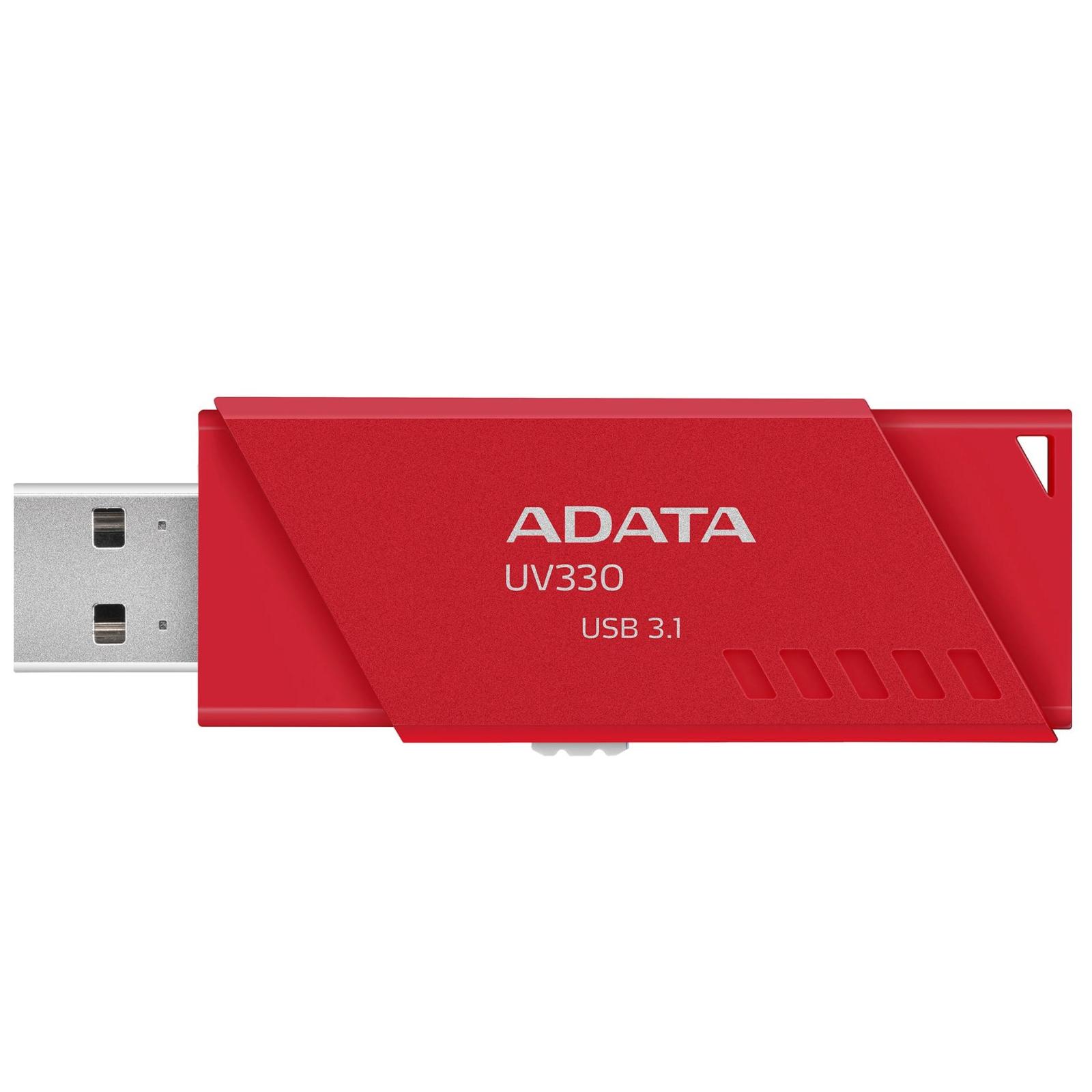USB флеш накопитель ADATA 32GB UV330 Black USB 3.1 (AUV330-32G-RBK) изображение 2