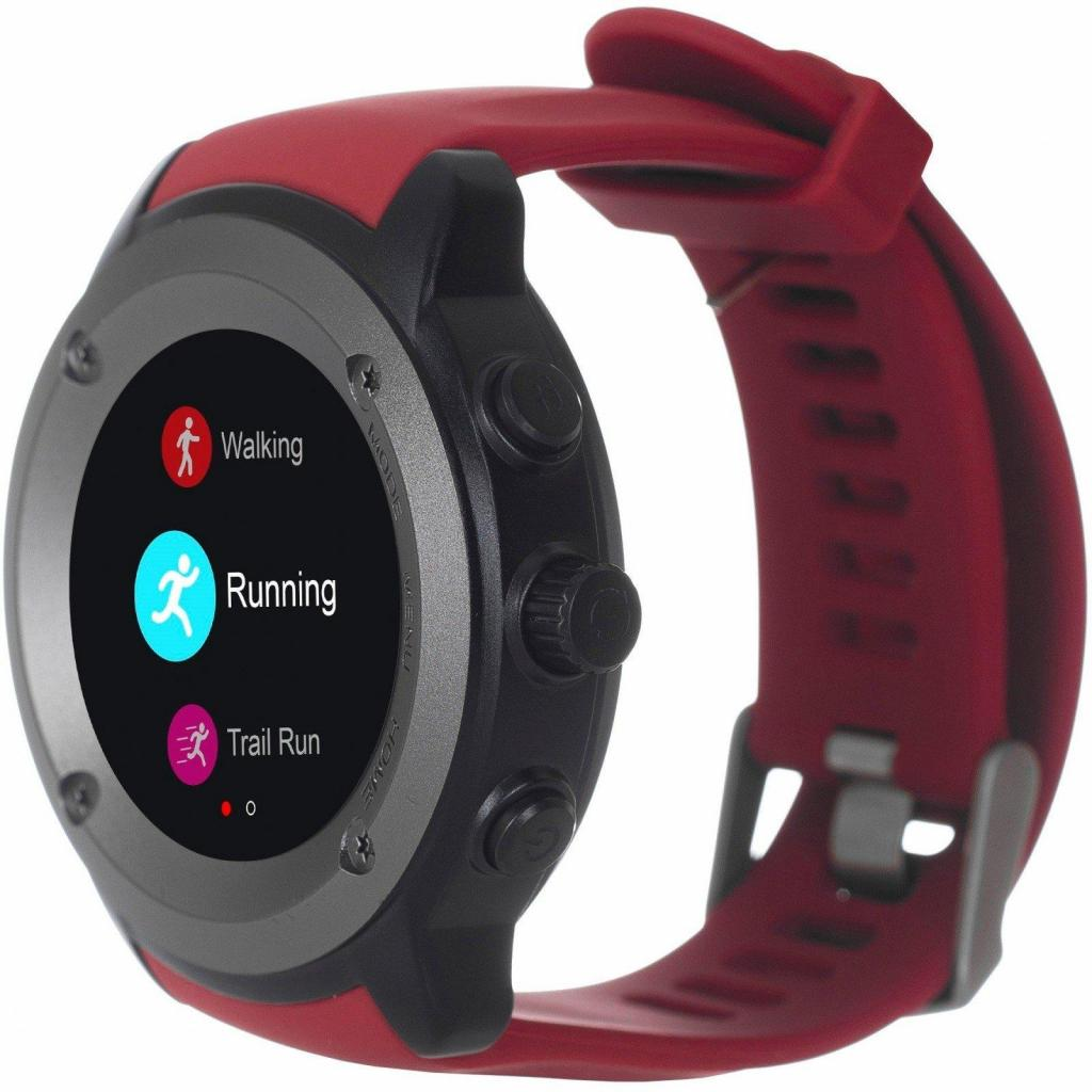 Смарт-годинник Ergo Sport GPS HR Watch S010 Red (GPSS010R) ціни в ... fdcaa897ab6ef