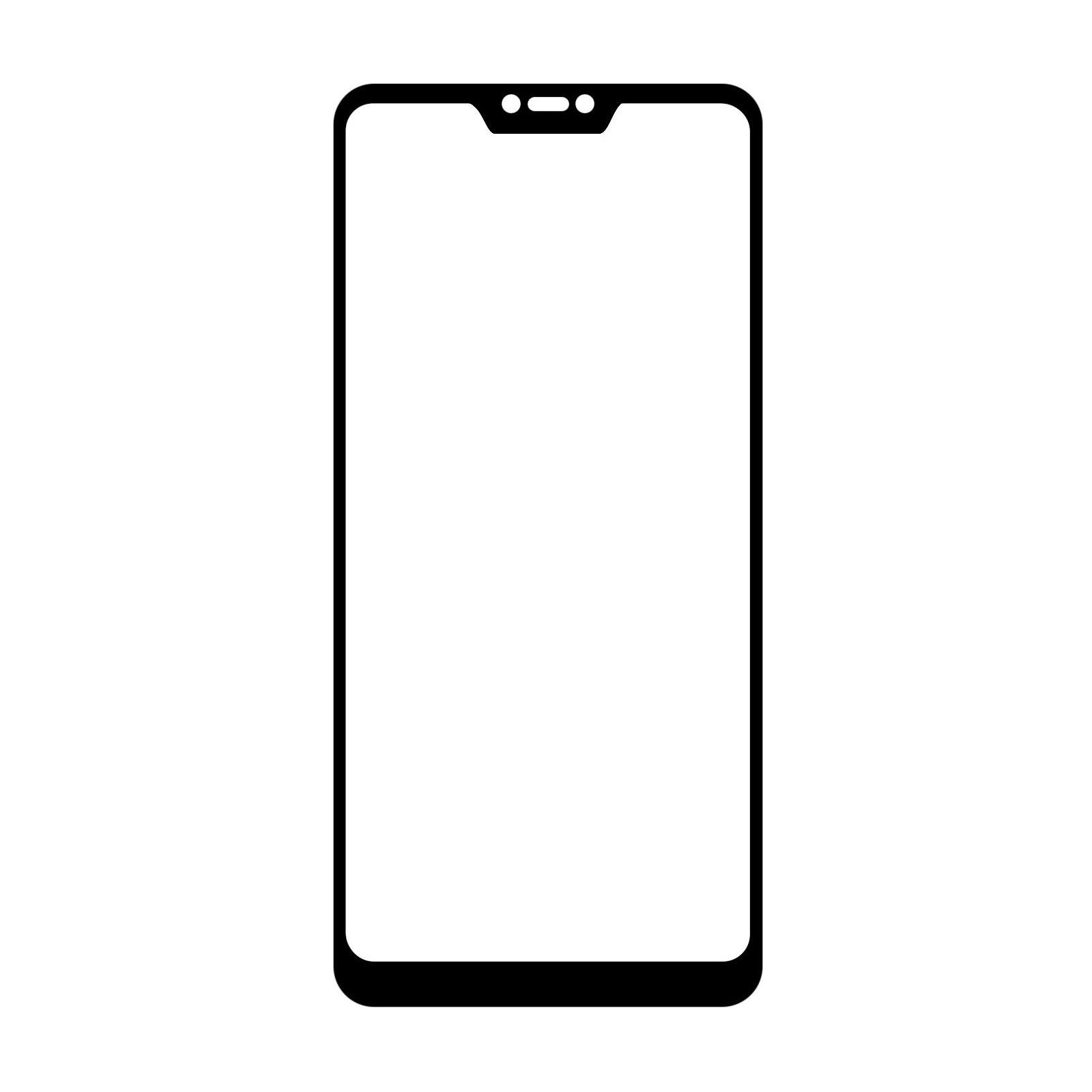 Стекло защитное MakeFuture для Xiaomi MiA2 Lite Black Full Cover Full Glue (MGFCFG-XMA2LB) изображение 2