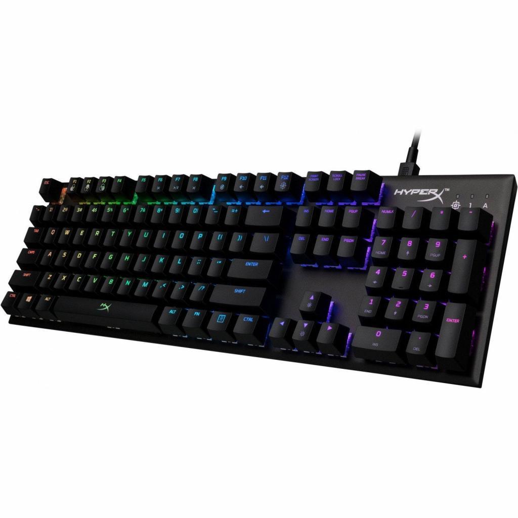 Клавіатура HyperX FPS RGB Kailh Silver Speed (HX-KB1SS2-RU) зображення 2