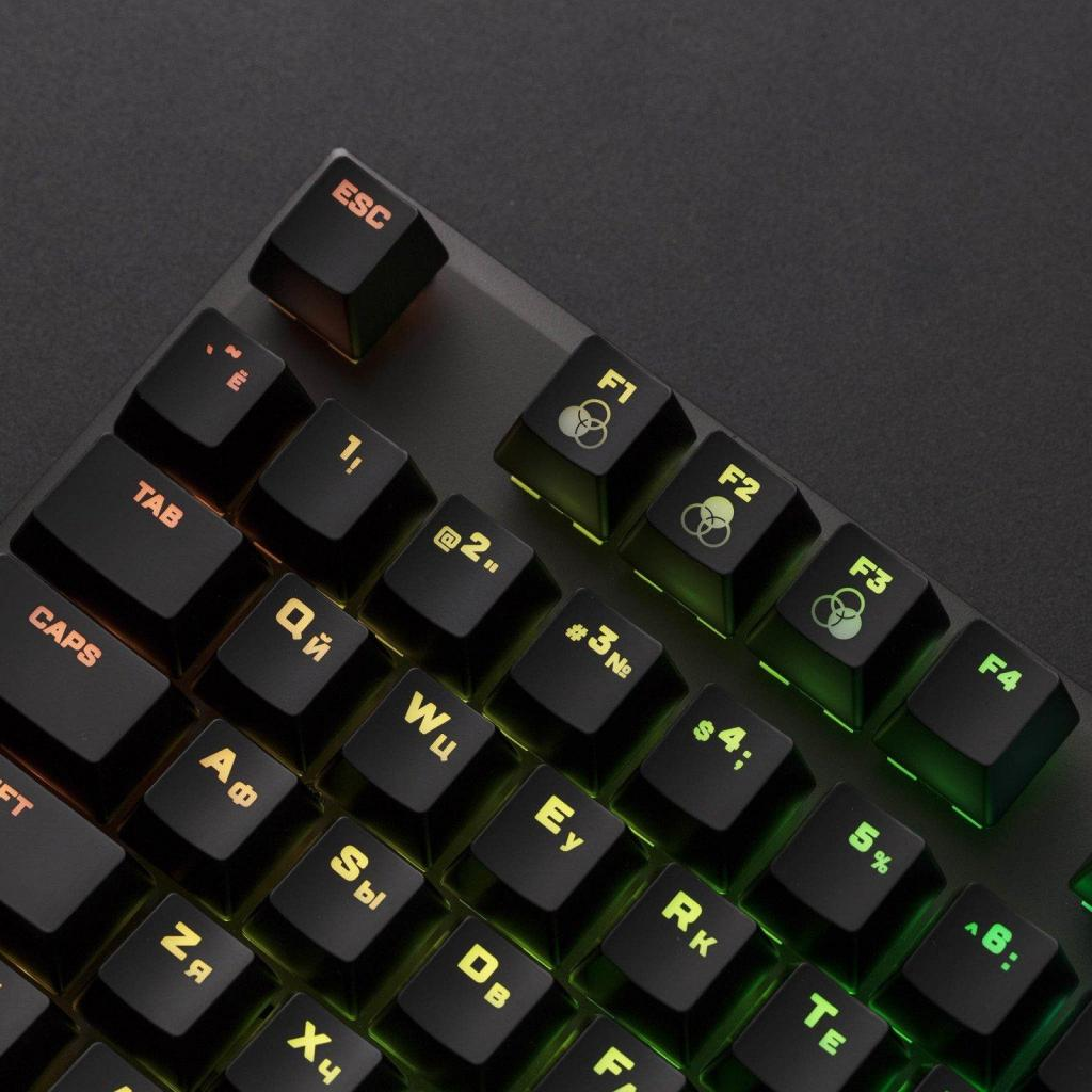 Клавіатура HyperX FPS RGB Kailh Silver Speed (HX-KB1SS2-RU) зображення 5