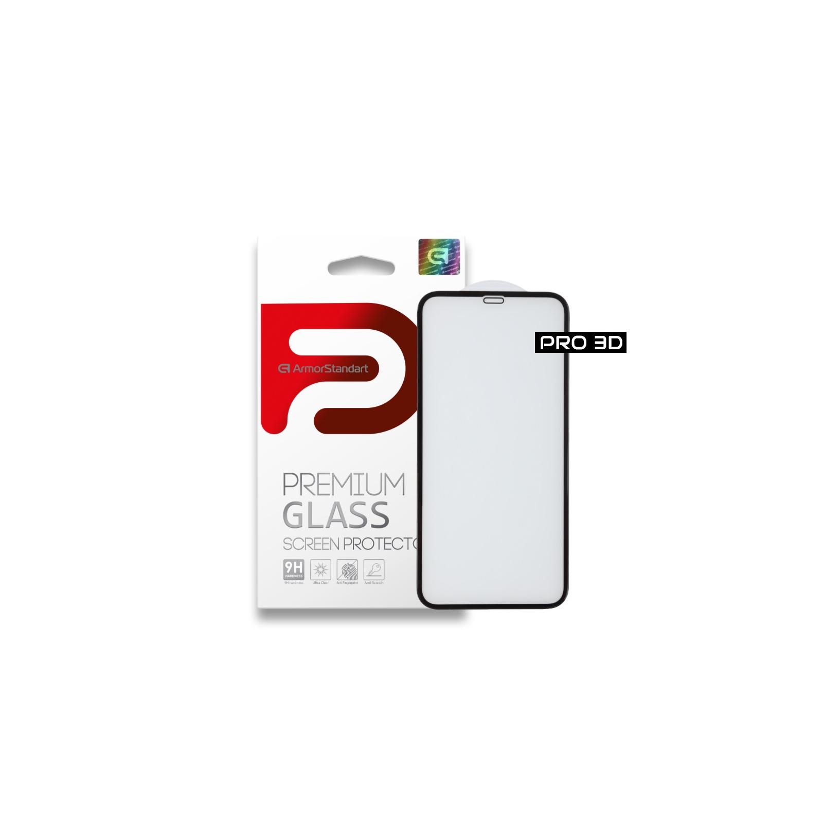 Стекло защитное Armorstandart для Apple iPhone XS/X Black (ARM55362-GP3D-BK)