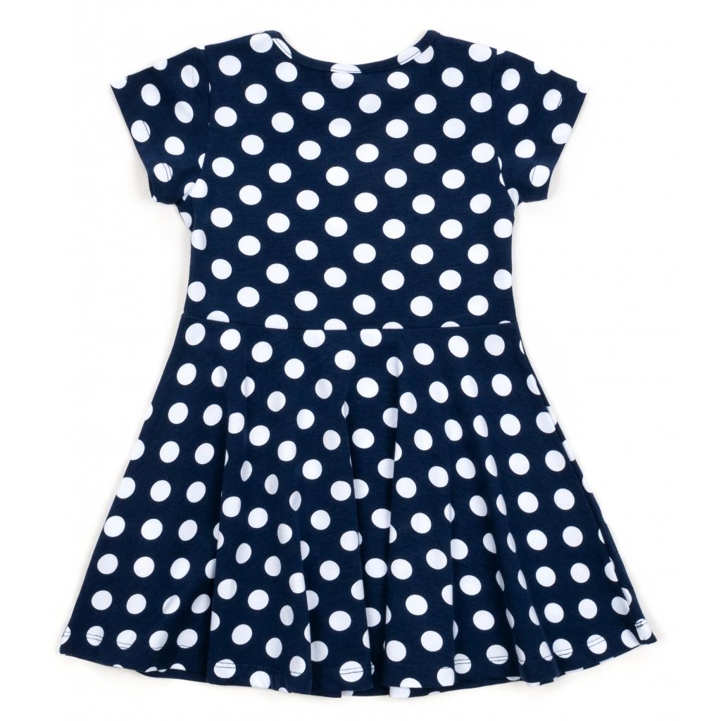 Платье Lovetti в горошек (5911-68-110G-blue) изображение 2
