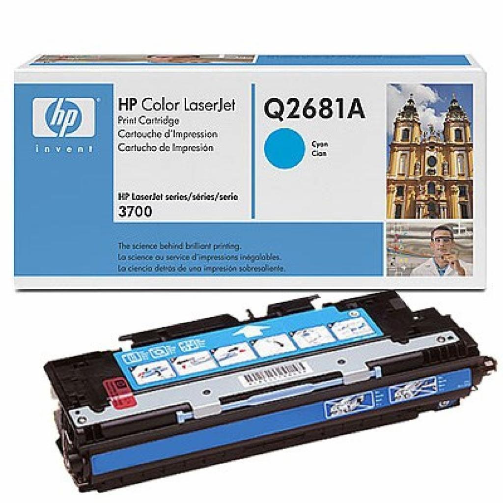 Картридж HP CLJ 3700 cyan (Q2681A)