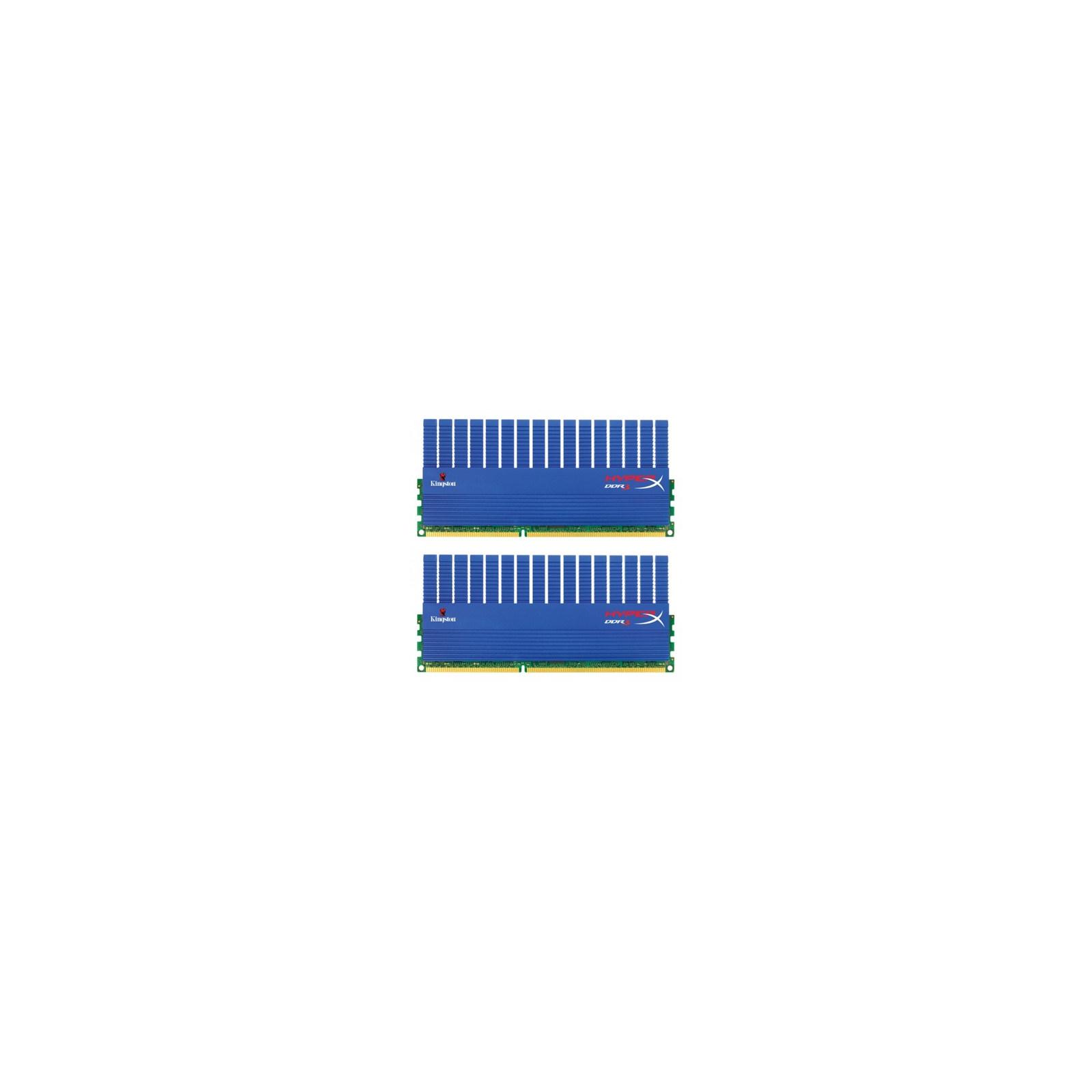 Модуль памяти для компьютера DDR3 8GB (2x4GB) 1600 MHz Kingston (KHX1600C9D3T1K2/8GX / KHX1600C9D3T1K2/8G)