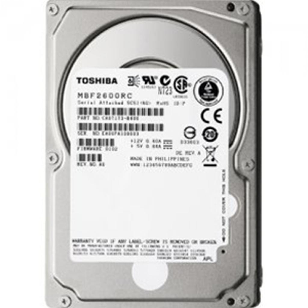 Жесткий диск для сервера 300GB TOSHIBA (MBF2300RC)