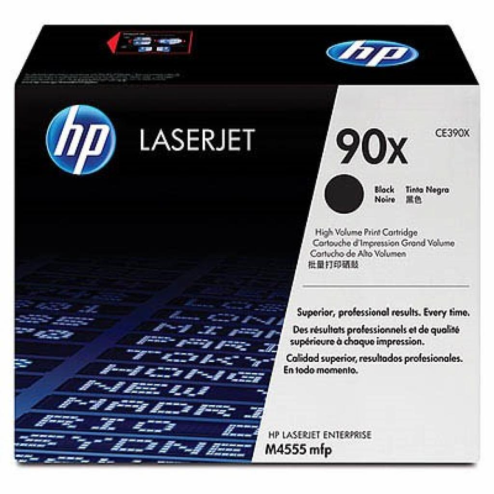 Картридж HP LJ M4555 MFP Black (CE390XD)