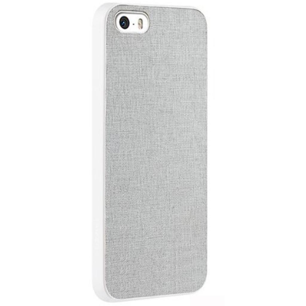 Чехол для моб. телефона OZAKI iPhone 5/5S O!coat 0.3+ Canvas ultra slim Gray (OC543GE) изображение 3