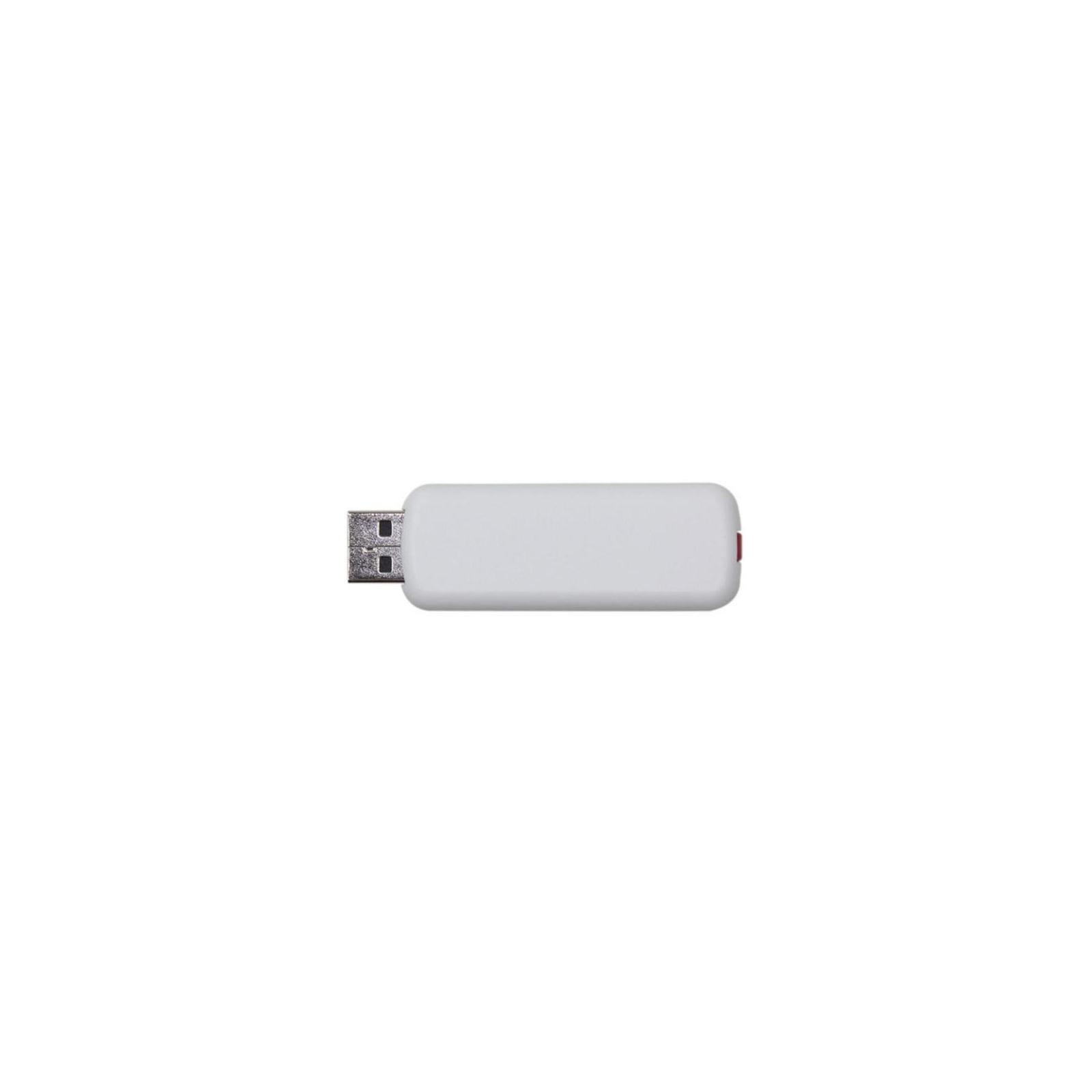 USB флеш накопитель 64GB AH326 White RP USB2.0 Apacer (AP64GAH326W-1) изображение 2