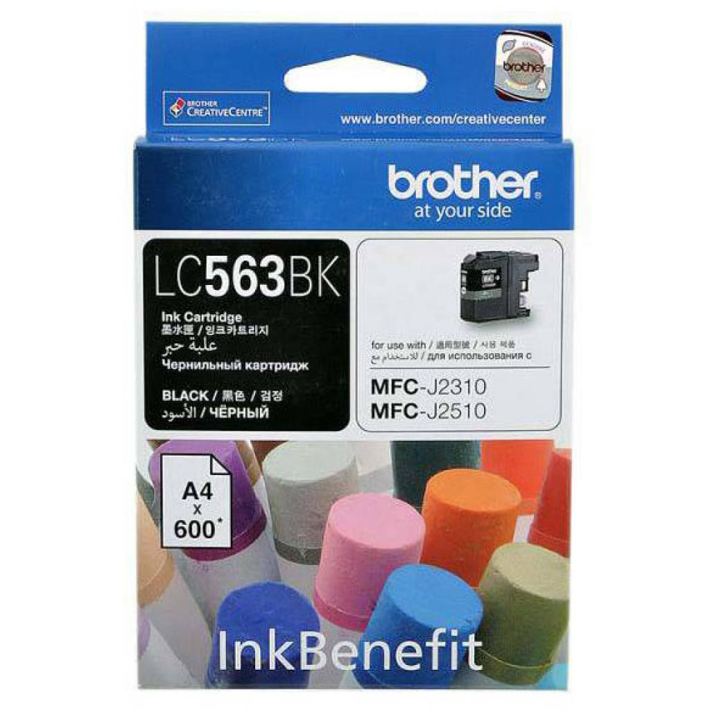 Картридж Brother MFC-J2310/J3520 black (LC563BK)
