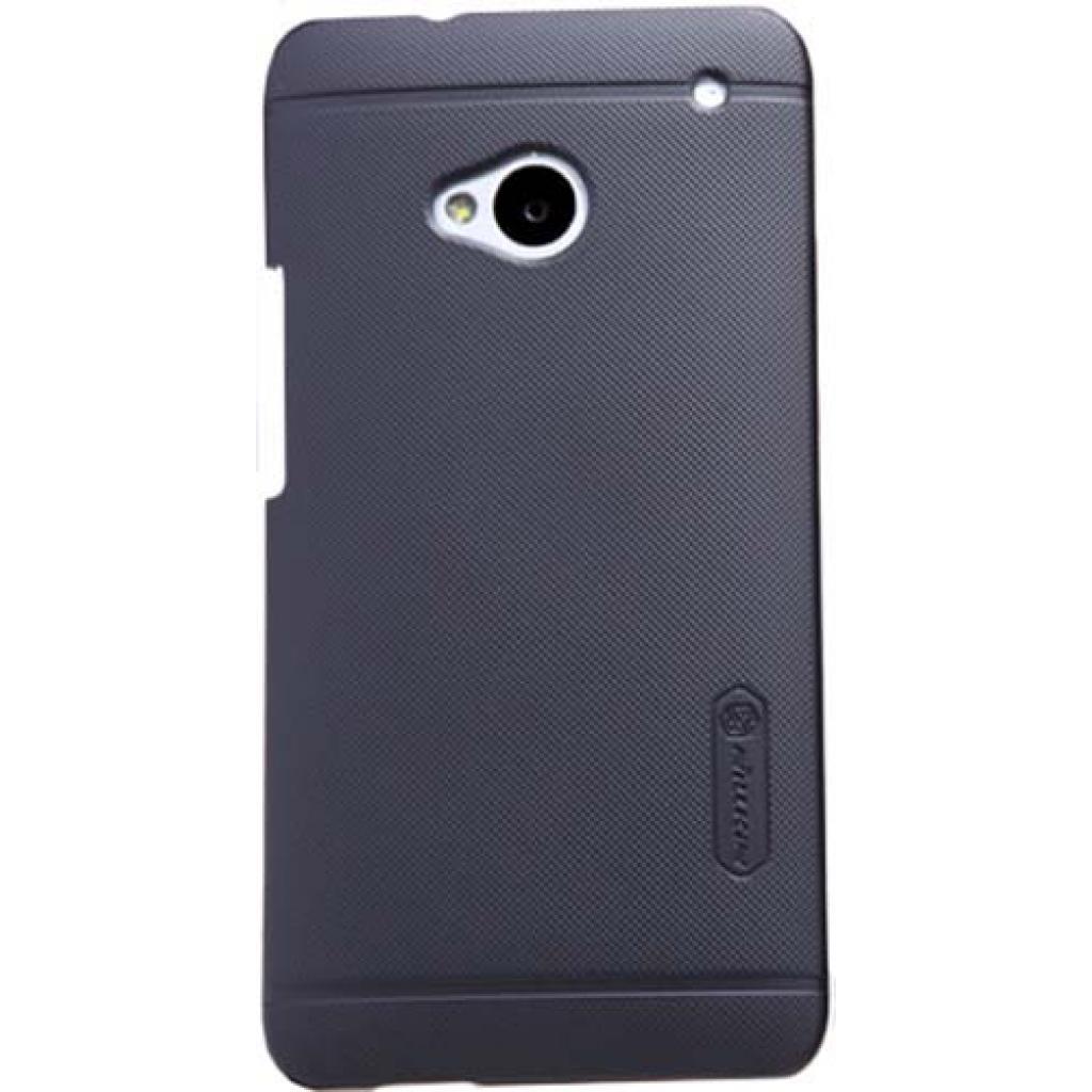 Чехол для моб. телефона NILLKIN для HTC ONE/M7 /Super Frosted Shield/Black (6065710)
