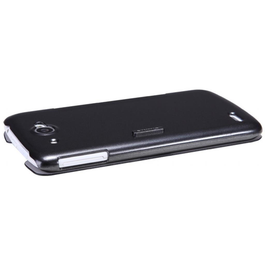 Чехол для моб. телефона NILLKIN для Lenovo S920 /Fresh/ Leather/Black (6076869) изображение 4