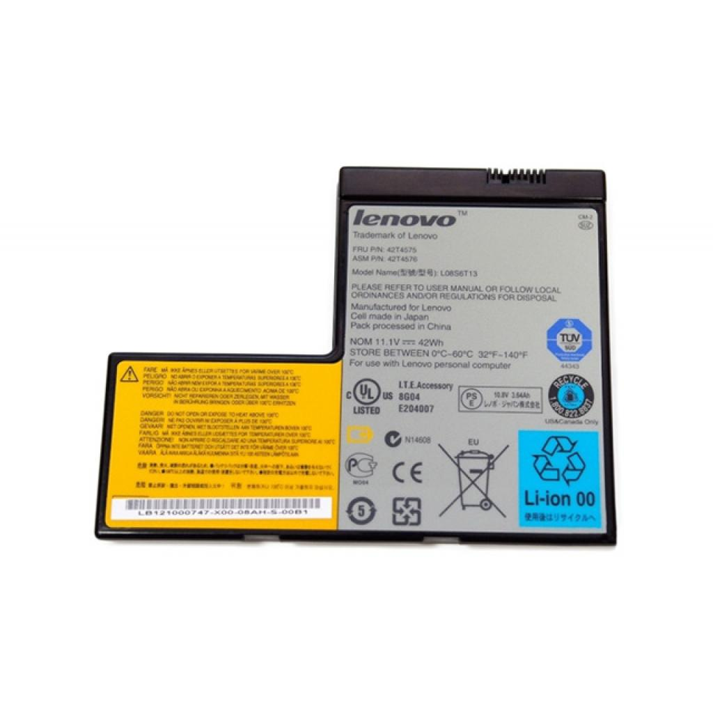 Аккумулятор для ноутбука IBM 42T4575 (101044)