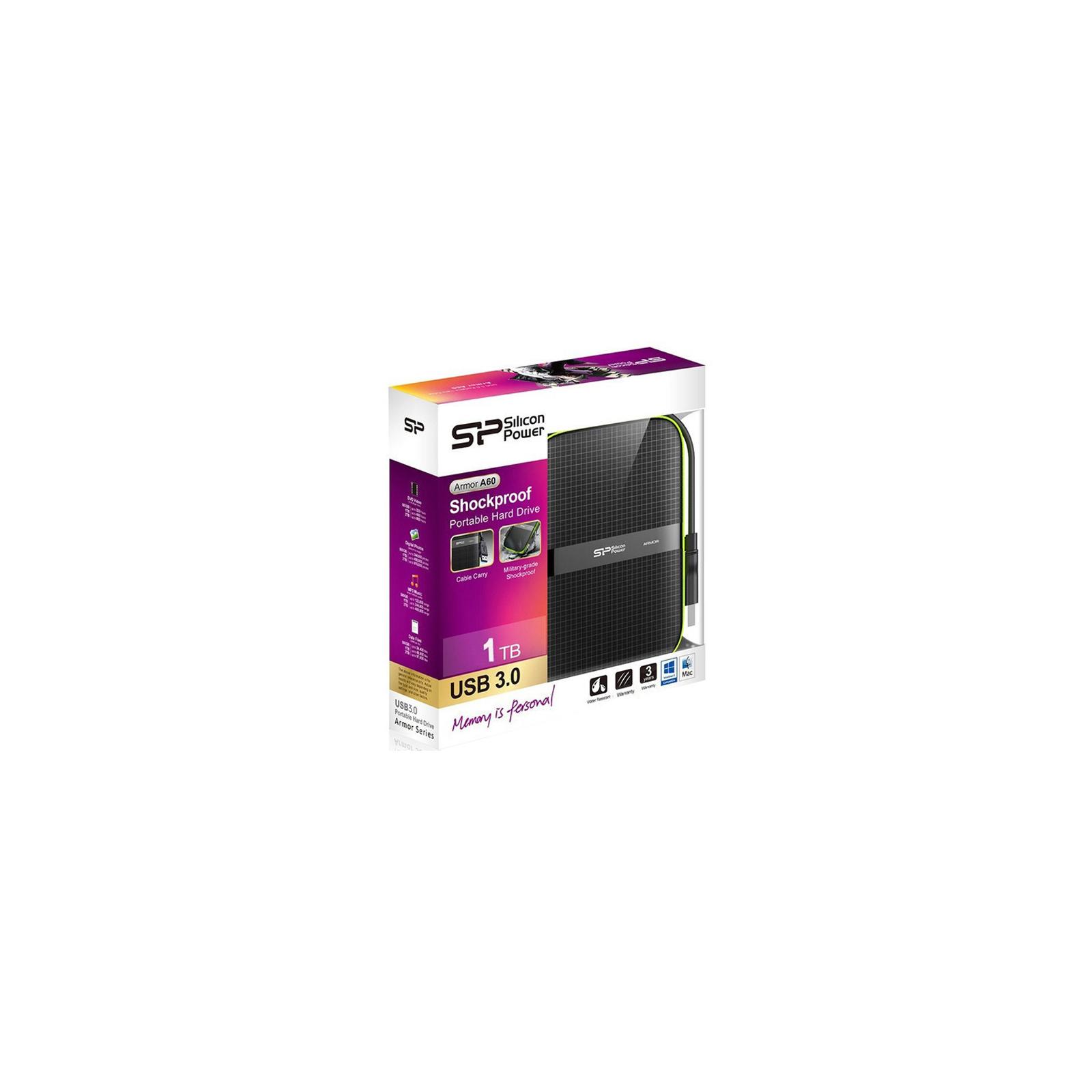 """Внешний жесткий диск 2.5"""" 2TB Silicon Power (SP020TBPHDA60S3K) изображение 8"""