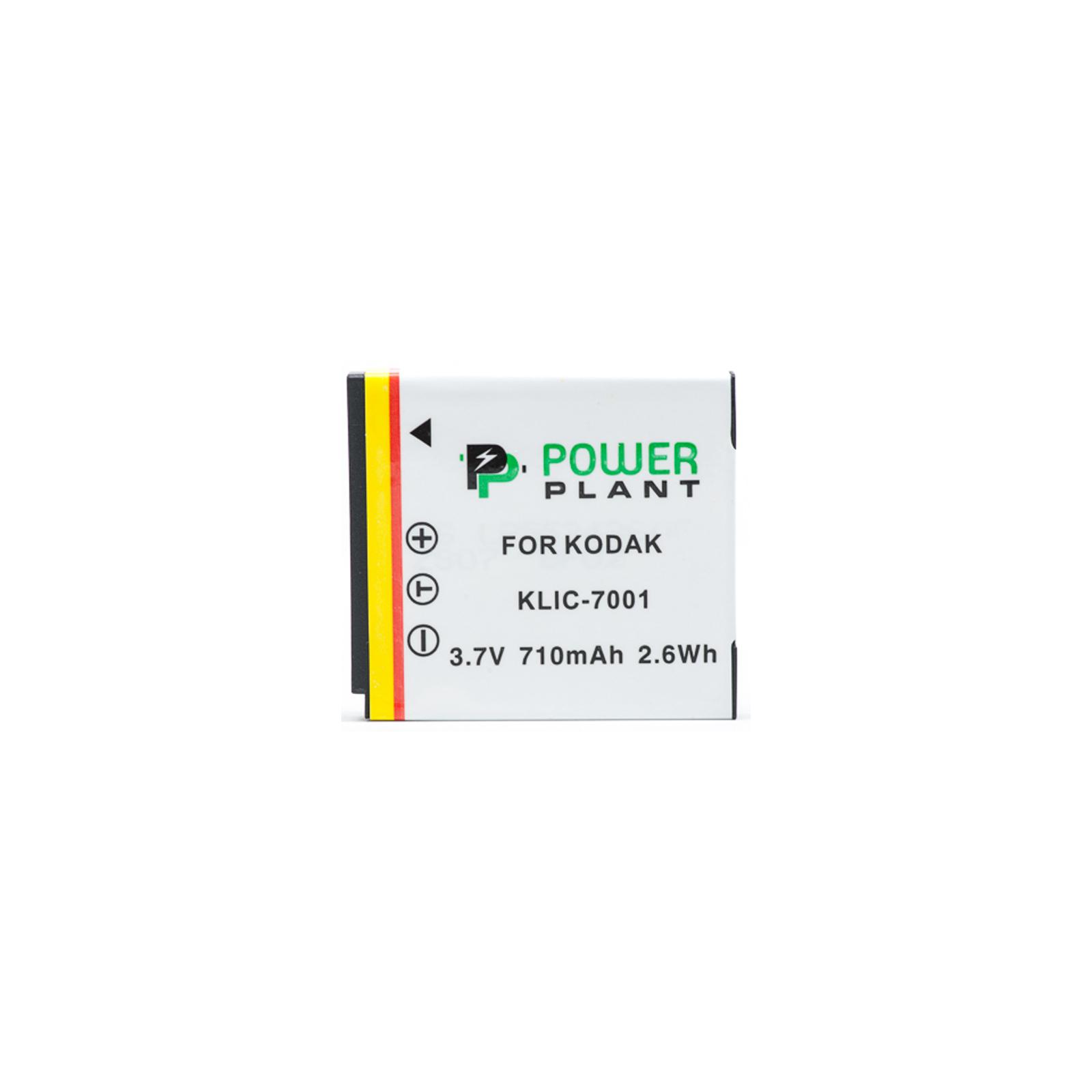 Аккумулятор к фото/видео PowerPlant Kodak KLIC-7001 (DV00DV1153) изображение 2