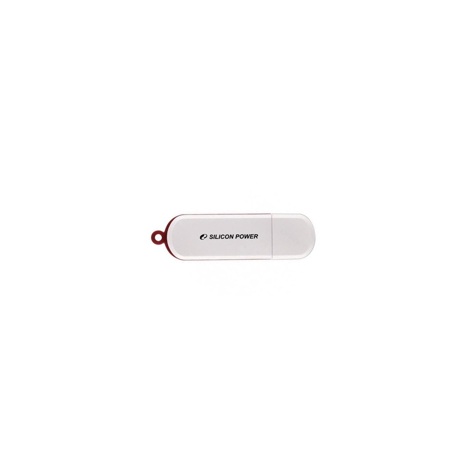 USB флеш накопитель Silicon Power 4Gb LuxMini 320 (SP004GBUF2320V1W)