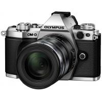 Цифровой фотоаппарат OLYMPUS E-M5 mark II 12-50 Kit silver/black (V207042SE000)