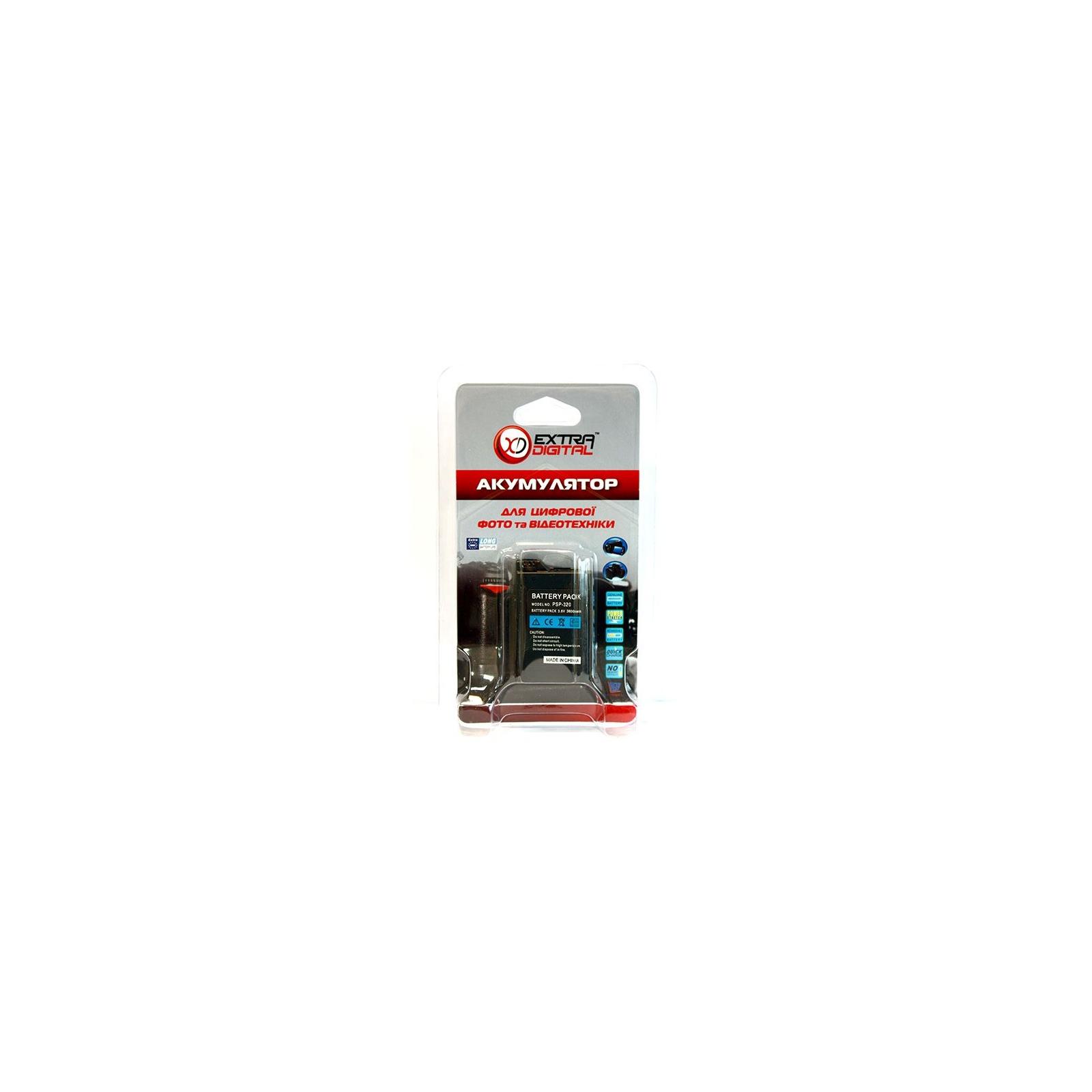 Аккумулятор к фото/видео EXTRADIGITAL Sony PSP-110 (DV00DV1351) изображение 4