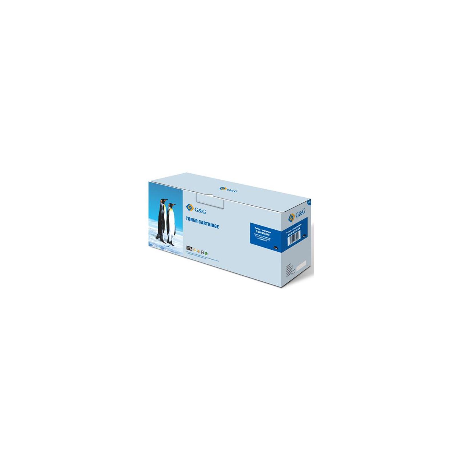 Картридж G&G для HP LJ P2014/P2015 series, LJ M2727nf series (max) Black (G&G-Q7553X)