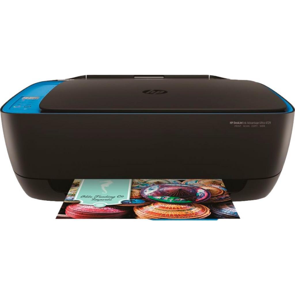 Многофункциональное устройство HP DeskJet Ultra Ink Advantage 4729 c Wi-Fi (F5S66A) изображение 2
