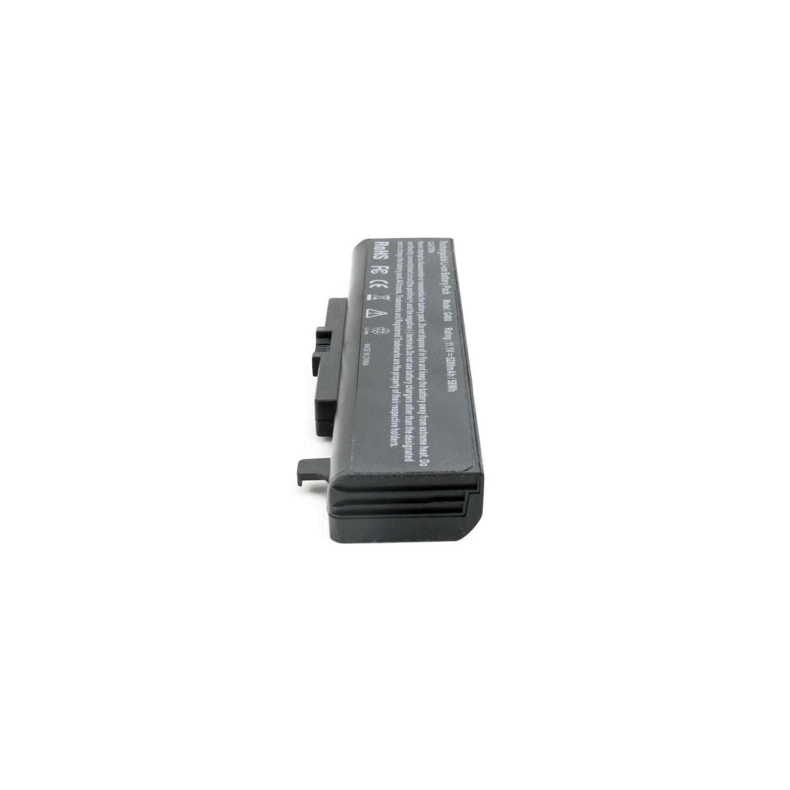 Аккумулятор для ноутбука Lenovo IdeaPad G480 (11.1V, 5200 mAh) EXTRADIGITAL (BNL3964) изображение 5