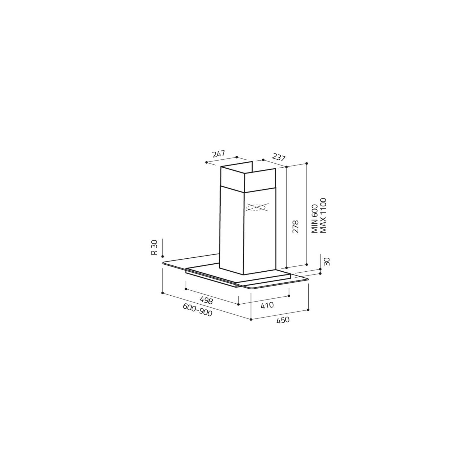 Вытяжка кухонная Elica FLAT GLASS IX A/60 изображение 2