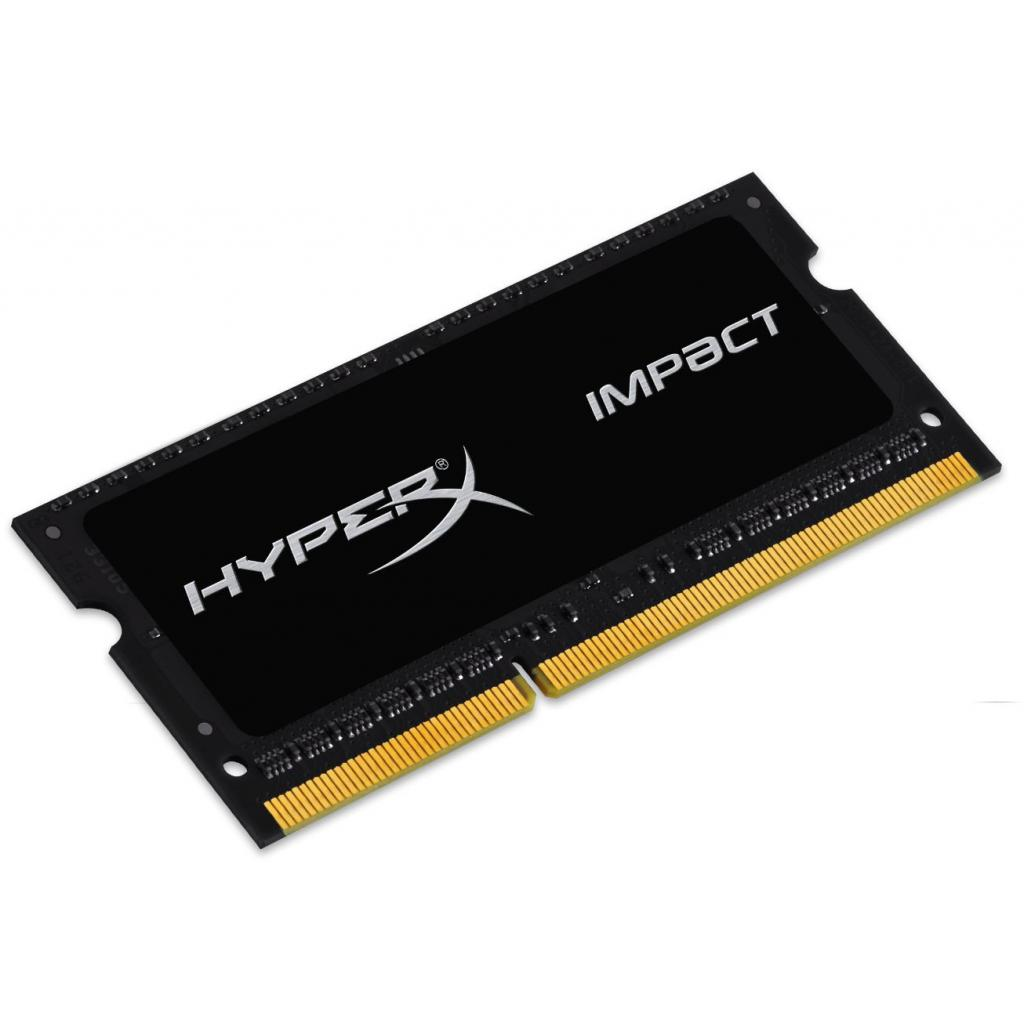 Модуль памяти для ноутбука SoDIMM DDR3 8GB 2133 MHz HyperX Impact Black Kingston (HX321LS11IB2/8) изображение 2