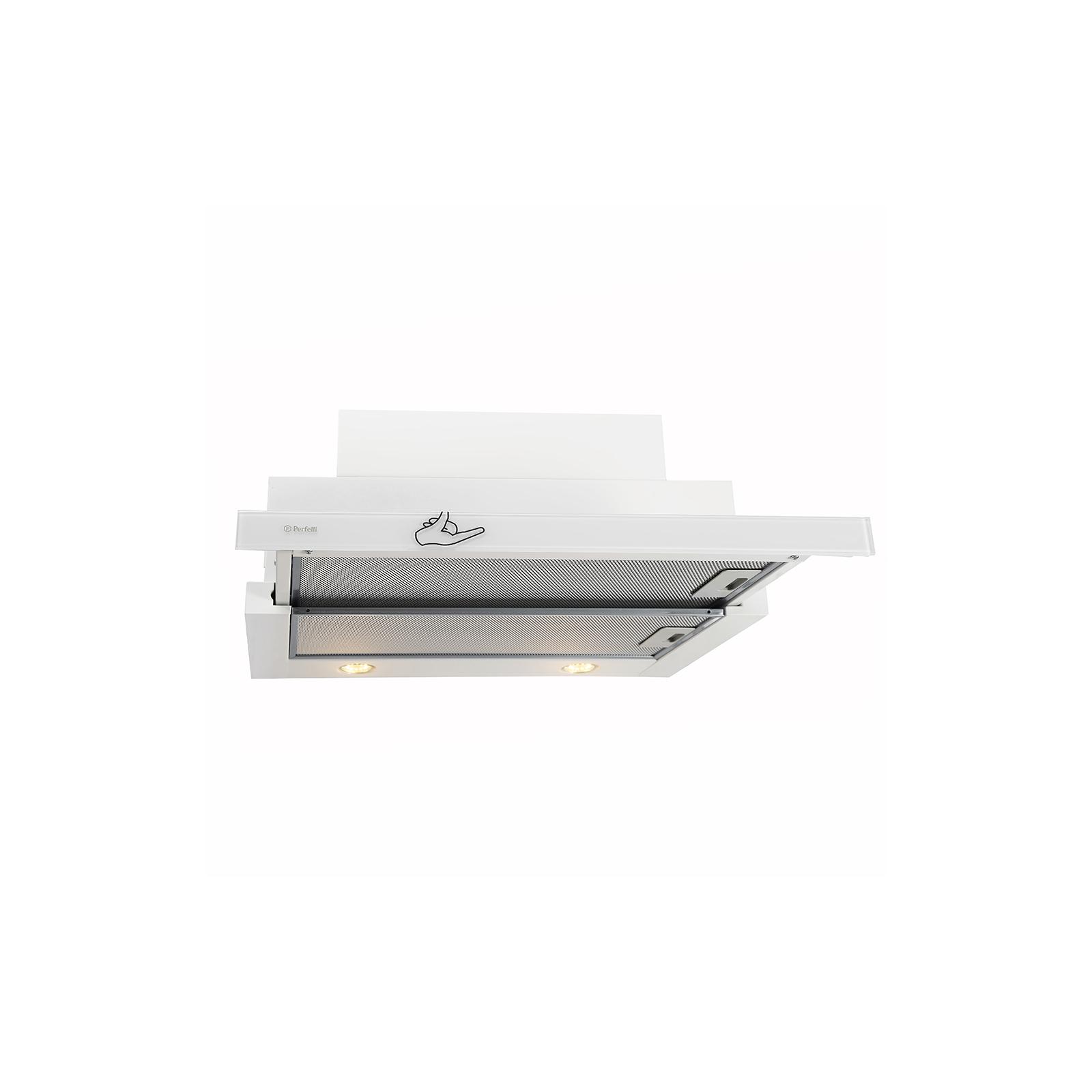 Вытяжка кухонная PERFELLI TLS 6832 W LED изображение 4