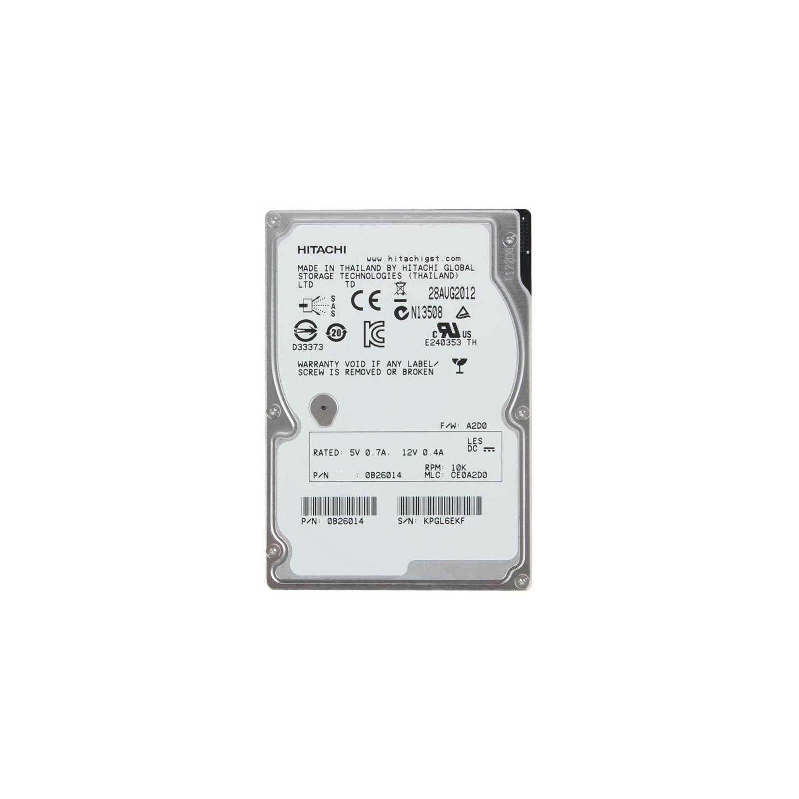 Жесткий диск для сервера 1.8TB Hitachi HGST (0B31236 / HUC101818CS4204)