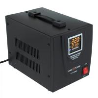 Стабілізатор LogicPower LPT-1500RD Black (4437)