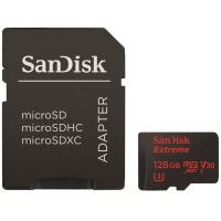 Карта памяти SANDISK 128GB microSDXC class 10 UHS-I 4K Extreme Action (SDSQXVF-128G-GN6MA)