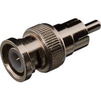 Коннектор GreenVision RCA/M-BNC/M (RCA-maletoBNC-male,I-type) (50 шт) (3631)