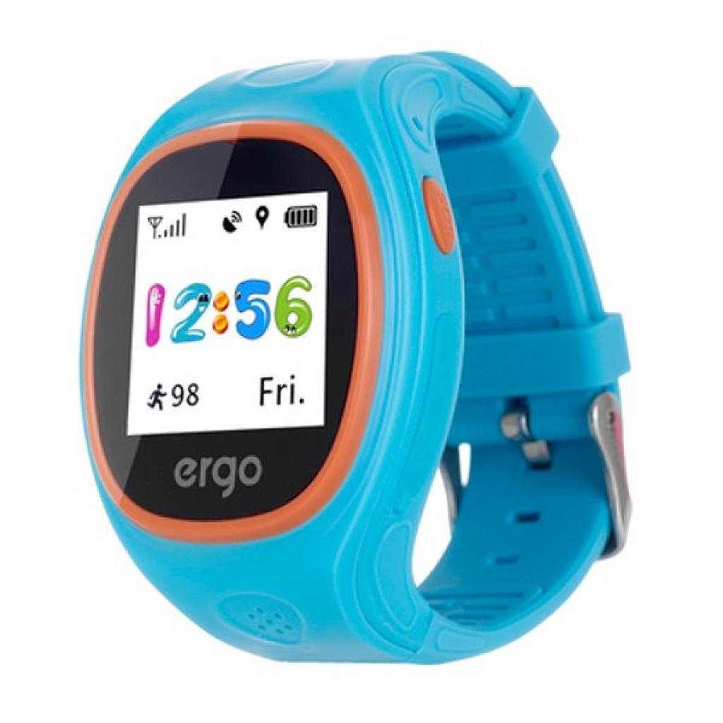 Смарт-годинник Ergo з GPS трекером Ergo Junior Color J010 Blue (GPSJ010B) 042a0c1f8b740