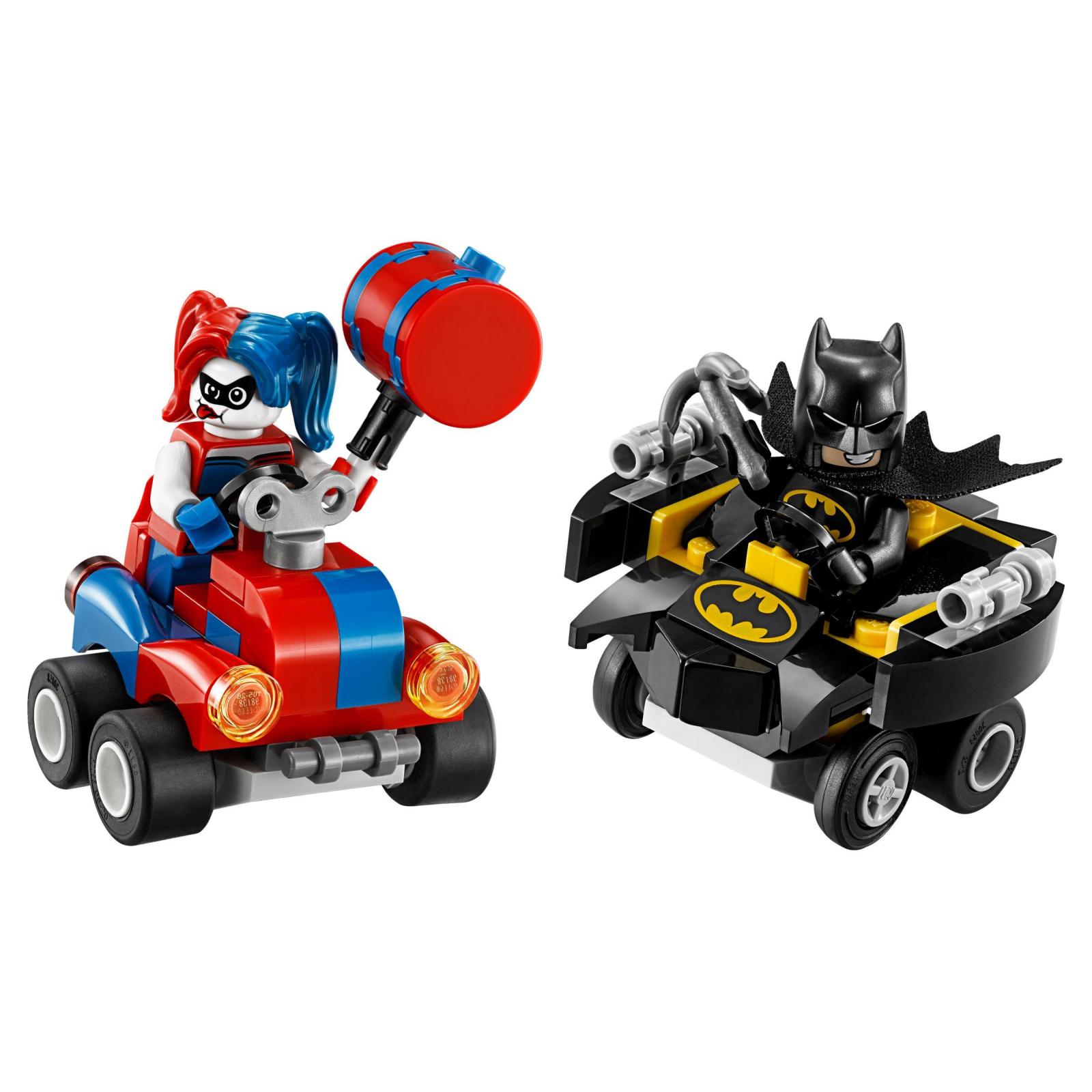 Конструктор LEGO Super Heroes Mighty Micros: Бэтмен против Харли Квин (76092) изображение 2